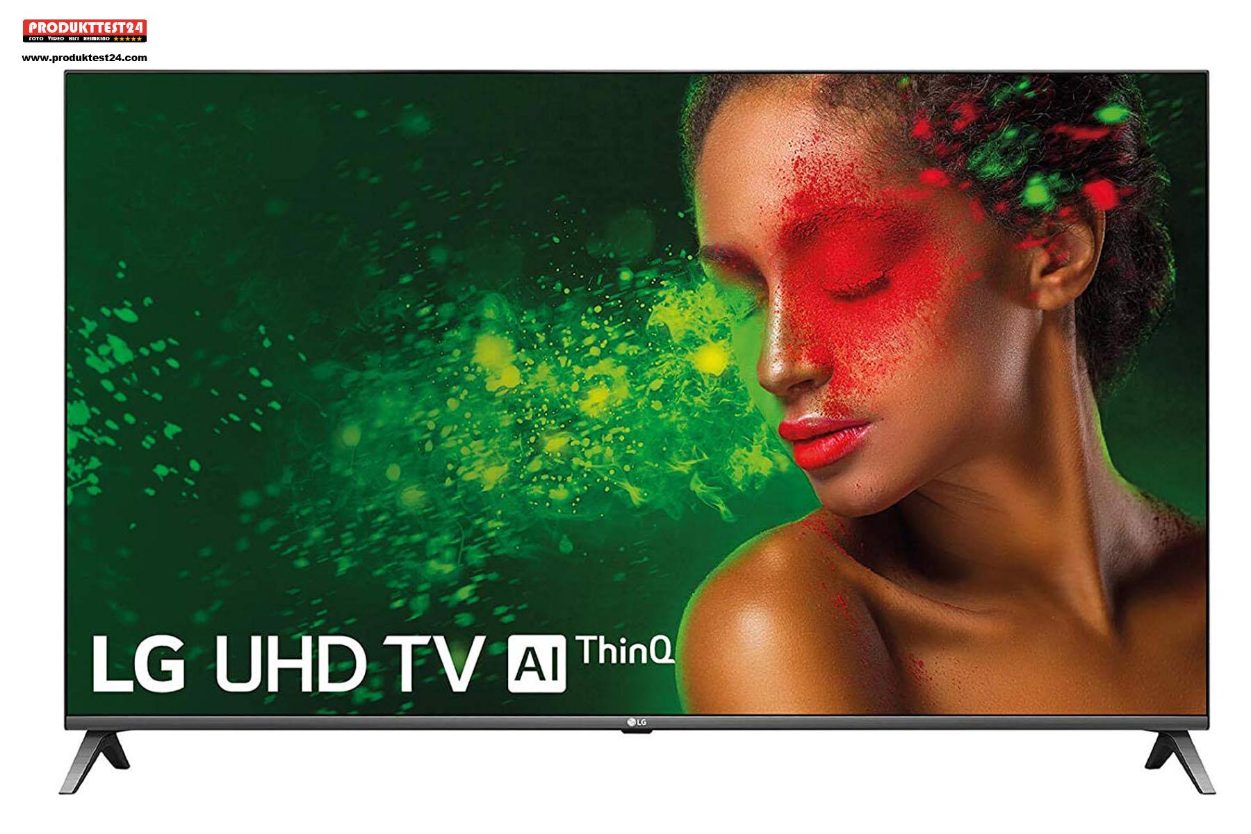 43 Zoll großes 4K-Display, SmartTV und Triple Tuner