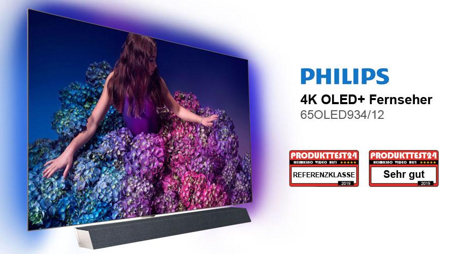 philips 65oled934 12 oled tv im test test und rezensionen zu elektronik. Black Bedroom Furniture Sets. Home Design Ideas