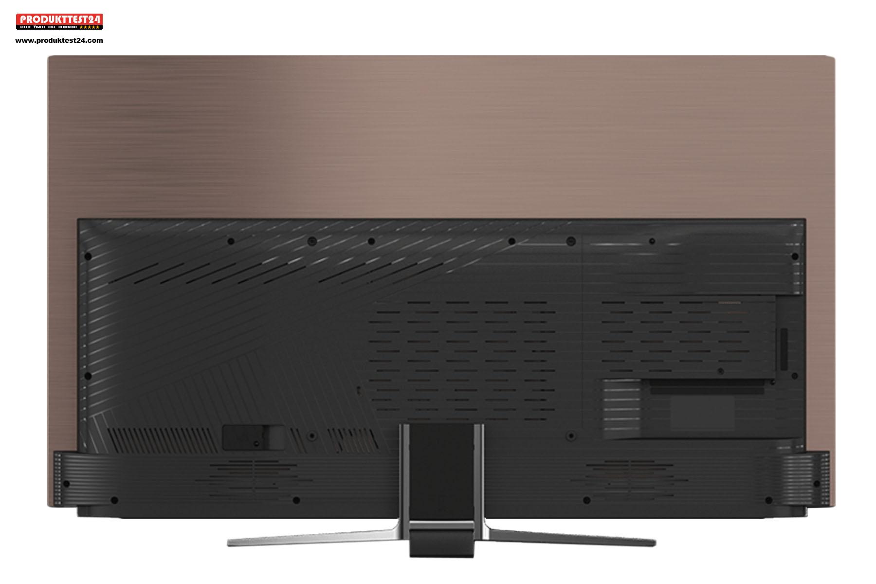 Die Rückseite des 65 Zoll OLED TV
