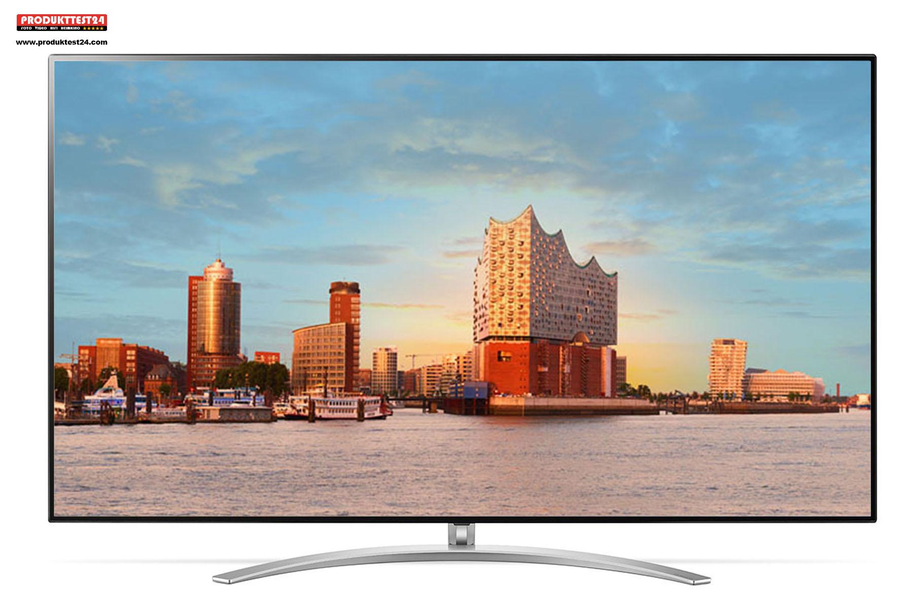 LG 55SM9010PLA NanoCell 4K-Fernseher im Test