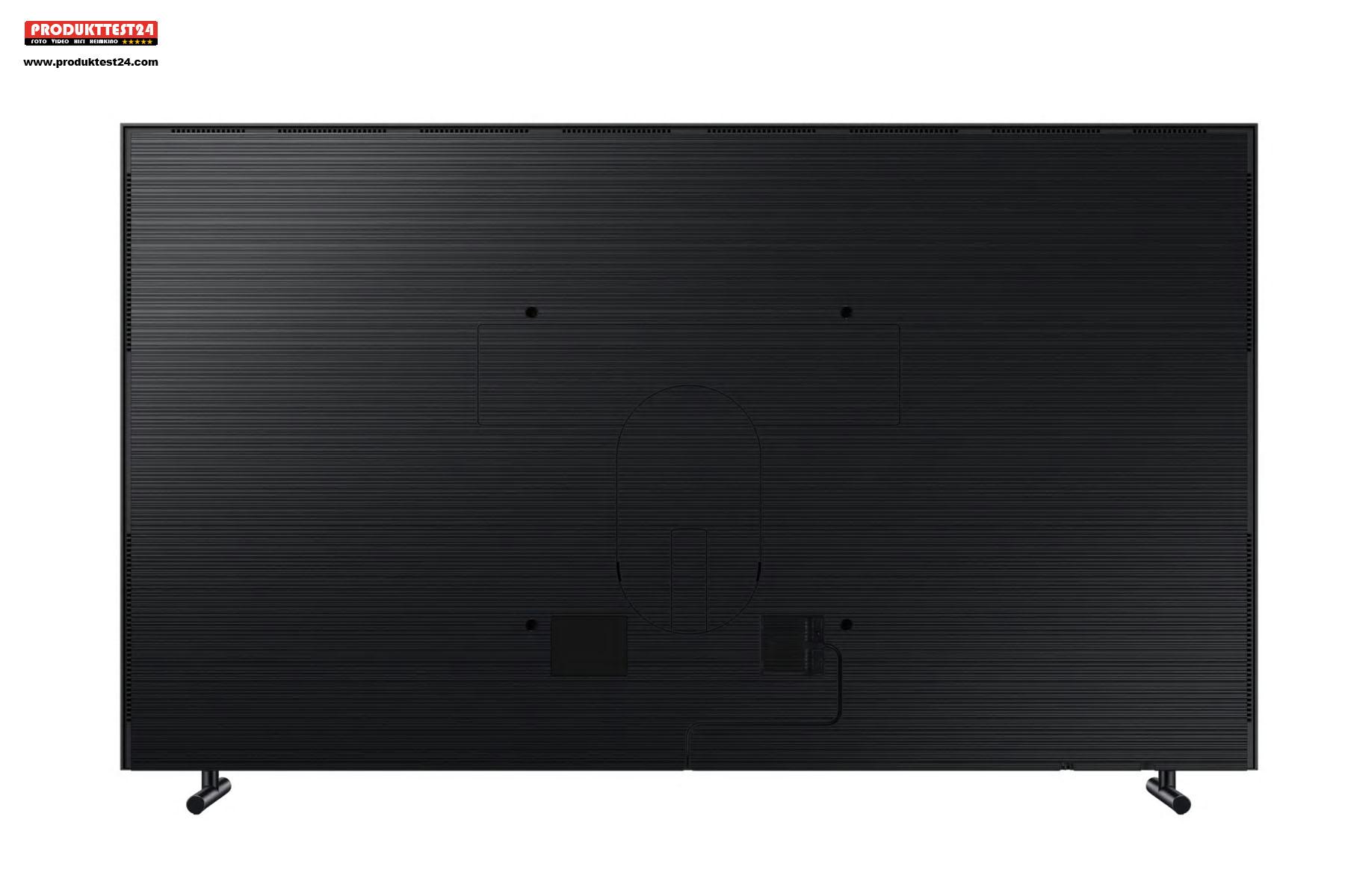 Auch die Rückseite des Samsung The Frame QE43LS03 ist hochwertig verarbeitet