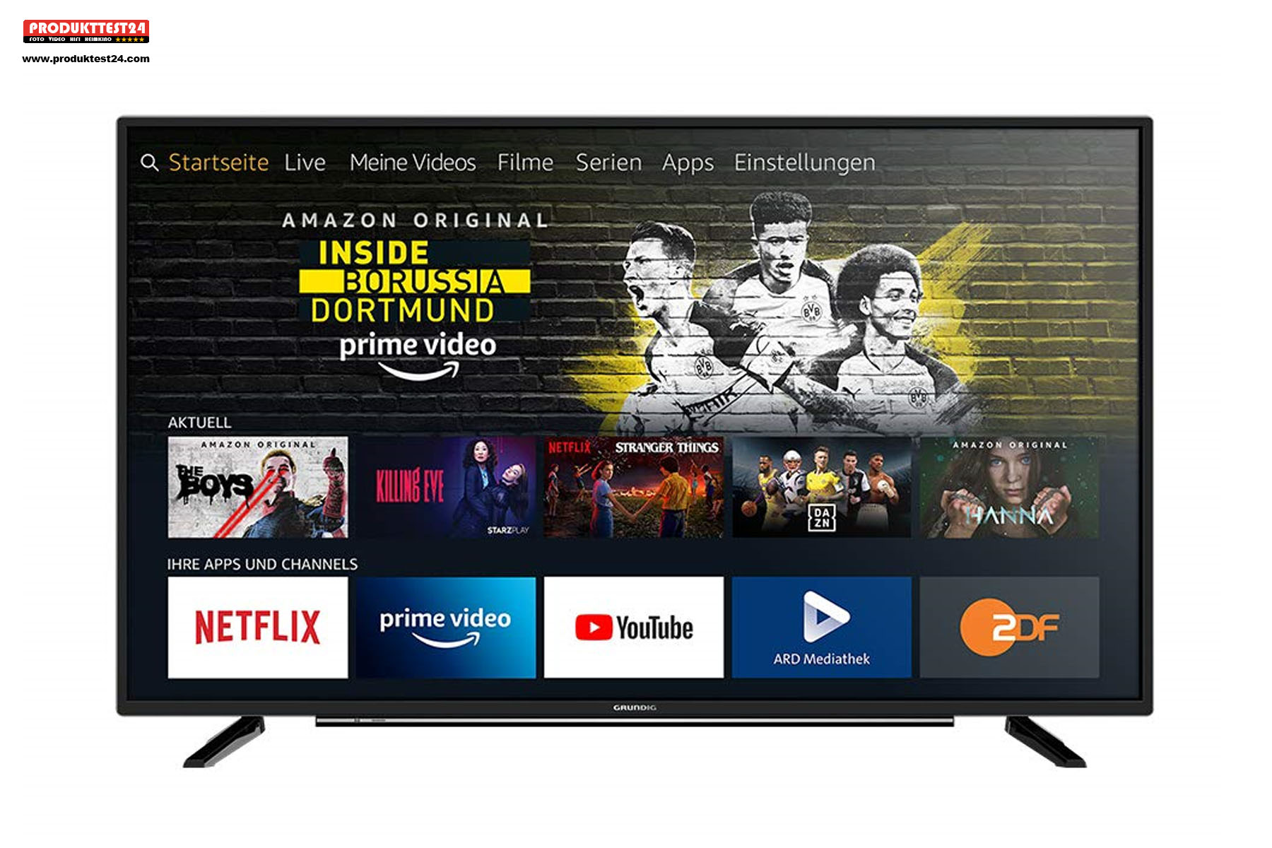 Amazon Fire TV fest integriert