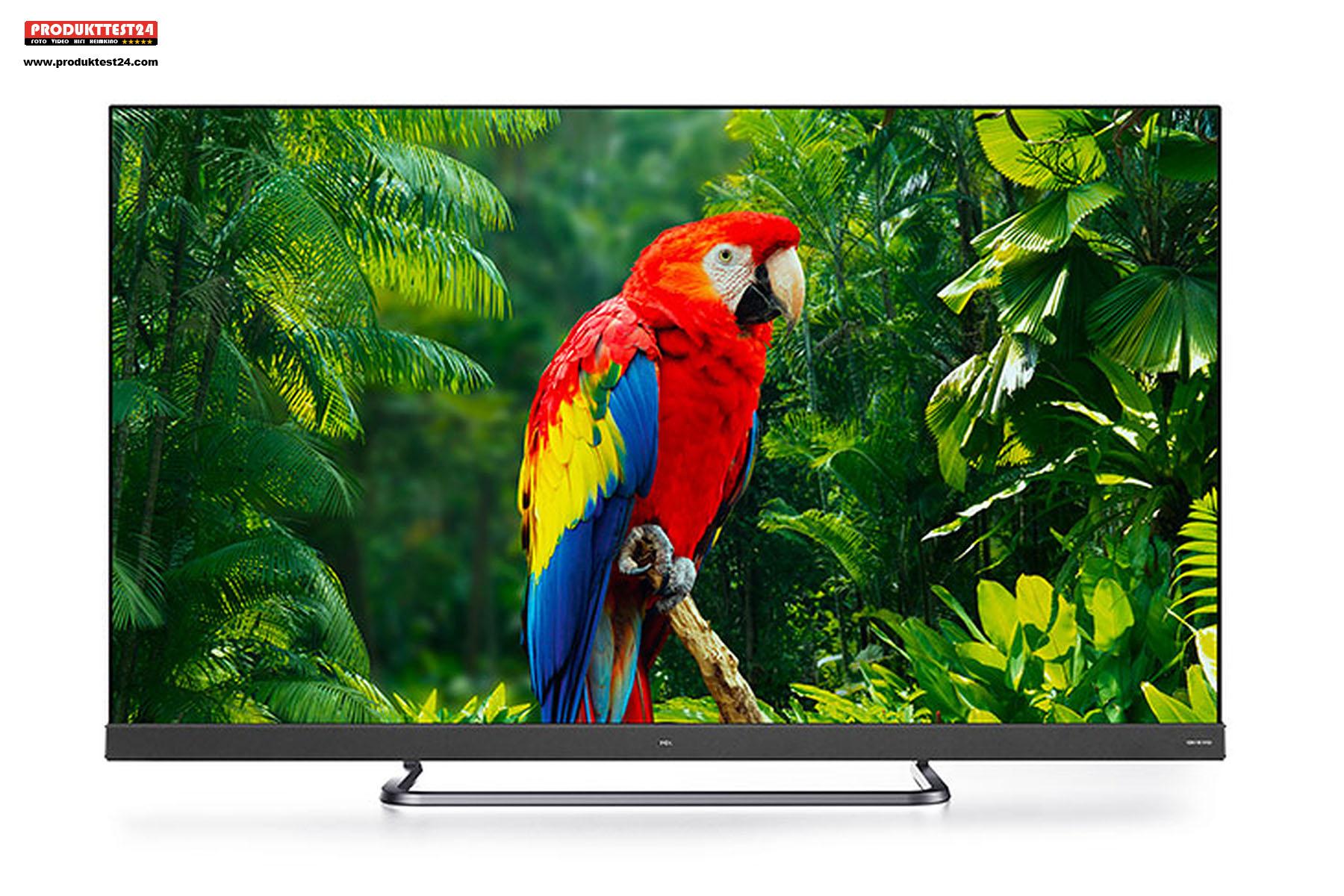 Der 55 Zoll große TCL 55EC780 UHD 4K-Fernseher