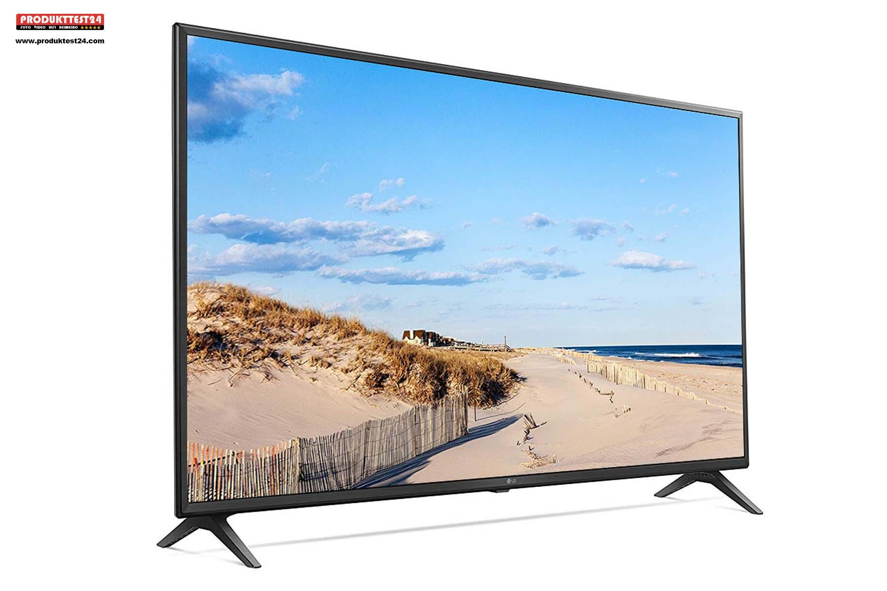 75 Zoll (189 cm) Bilddiagonale und volle 4K Ultra HD Auflösung.
