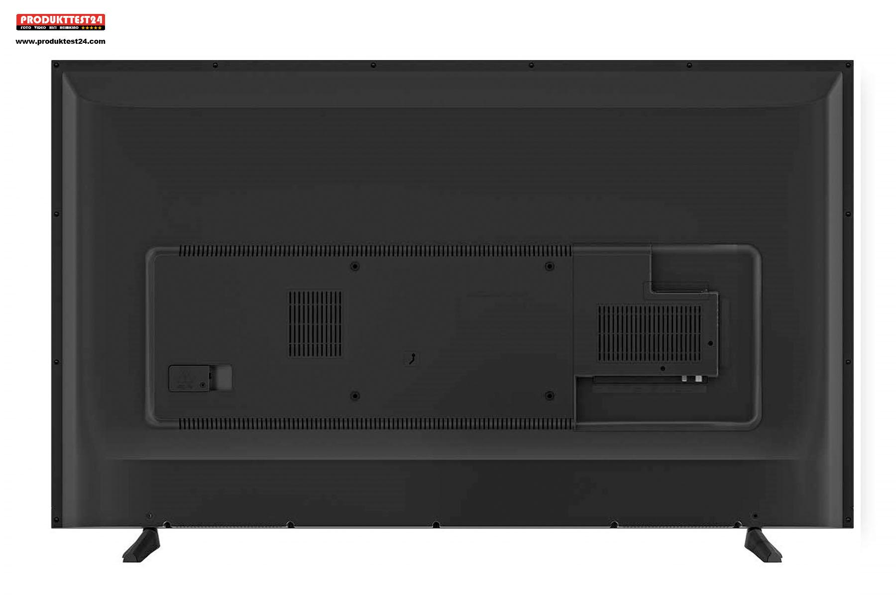 Die Rückseite des Grundig 65 VLX 7010