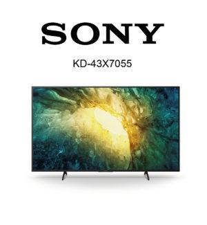 Sony Bravia KD-43X7055 im Test