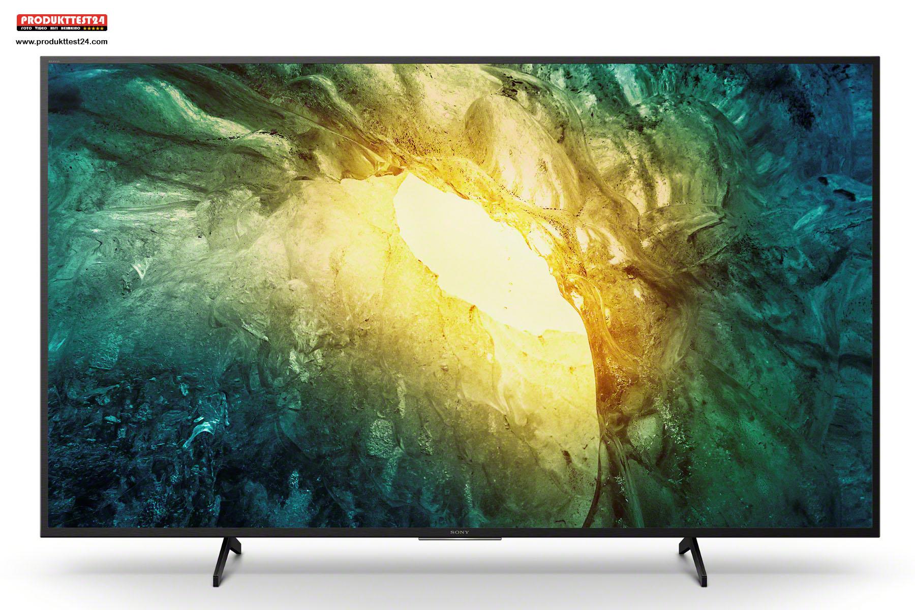 Sony Bravia KD-43X7055 mit Triluminos Display 4K-Auflösung und Linux SmartTV