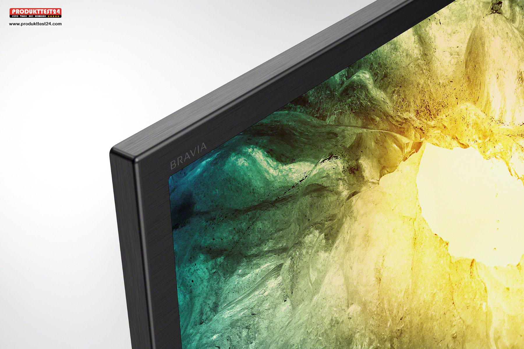 Der Sony Bravia legt eine hohe Verarbeitungsqualität an den Tag