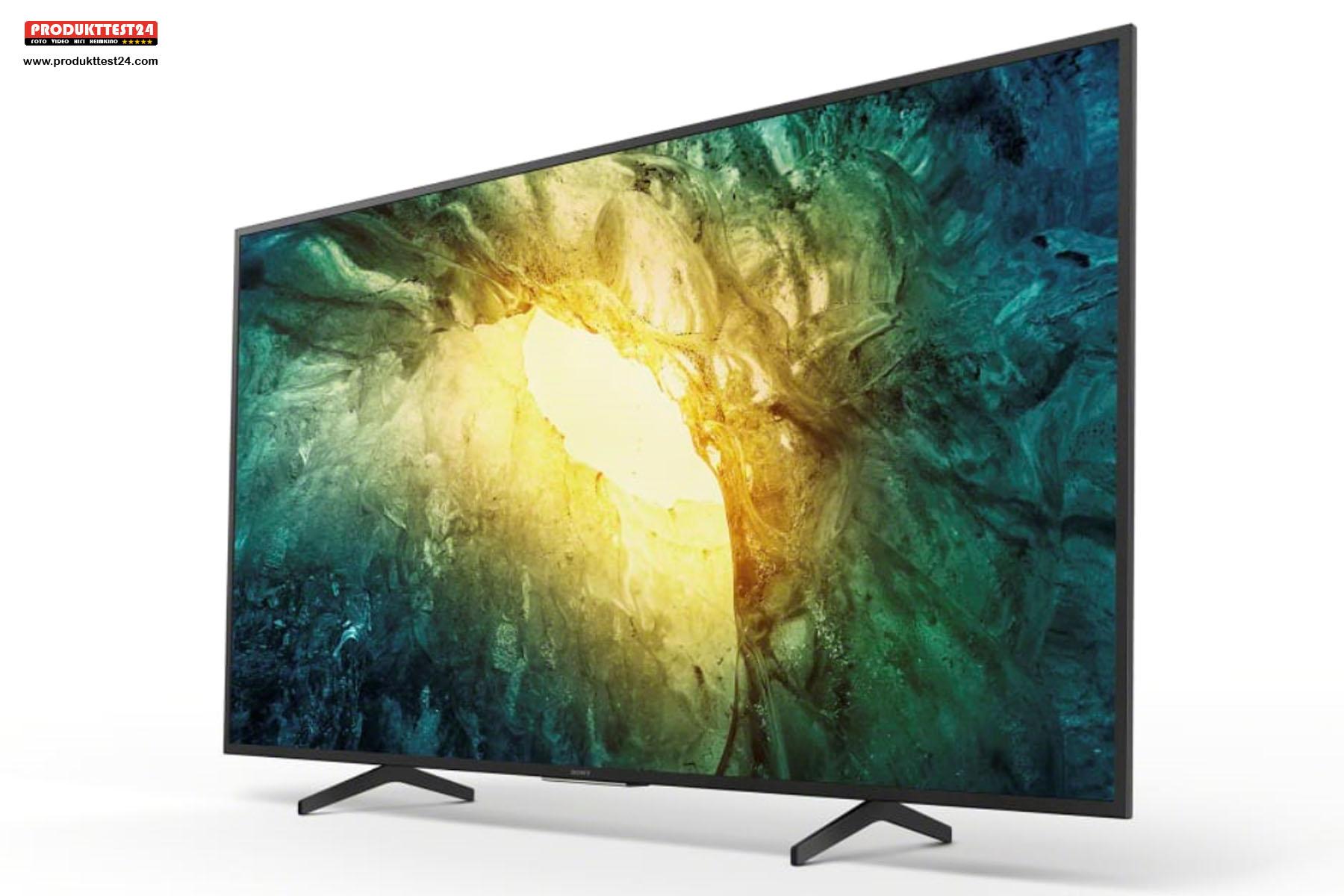 Sony KD-55X7055 mit Triluminos 4K-Display und Linux SmartTV