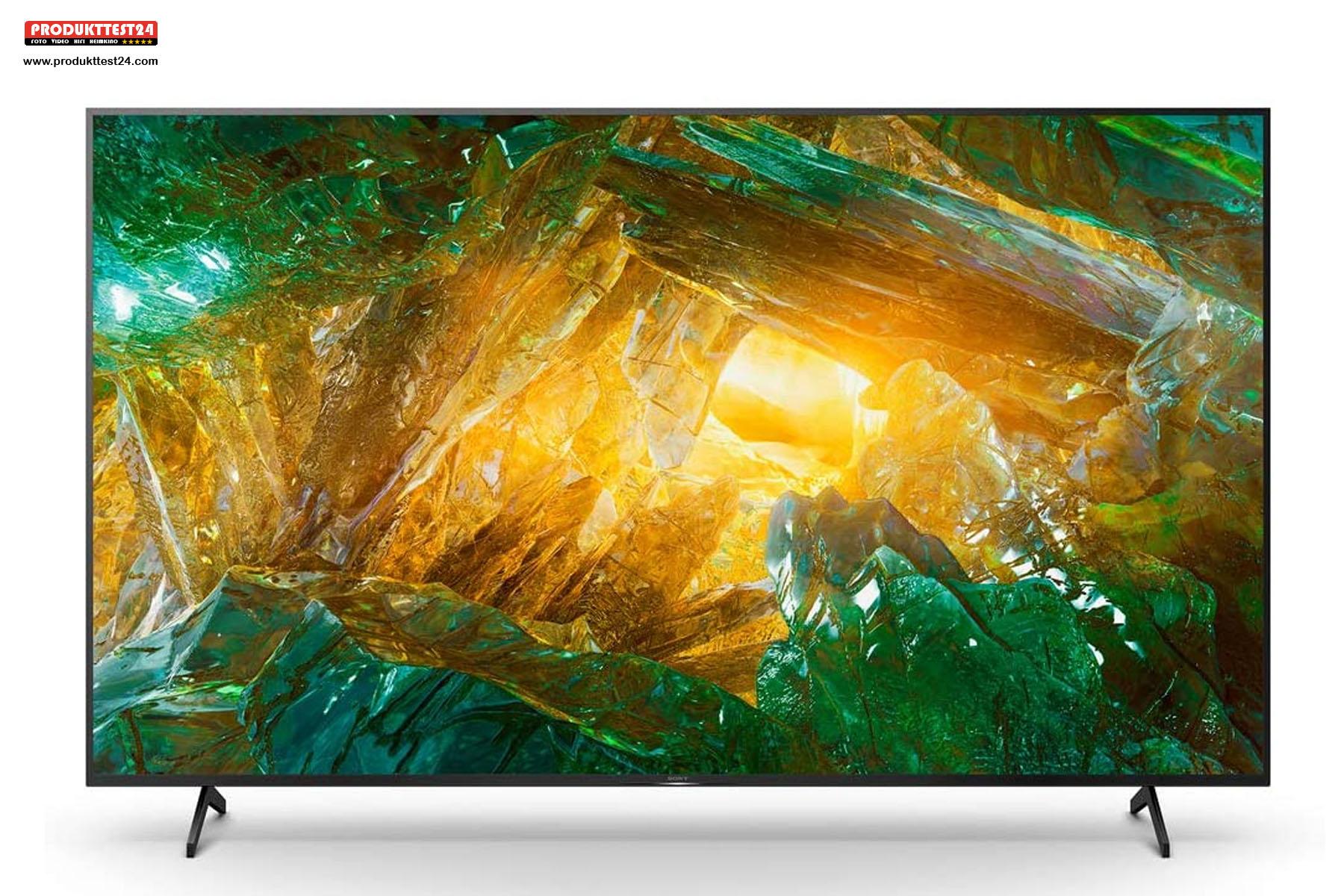 Der Sony KD-75XH8096 unterstützt HDR, Dolby Vision und Dolby Atmos