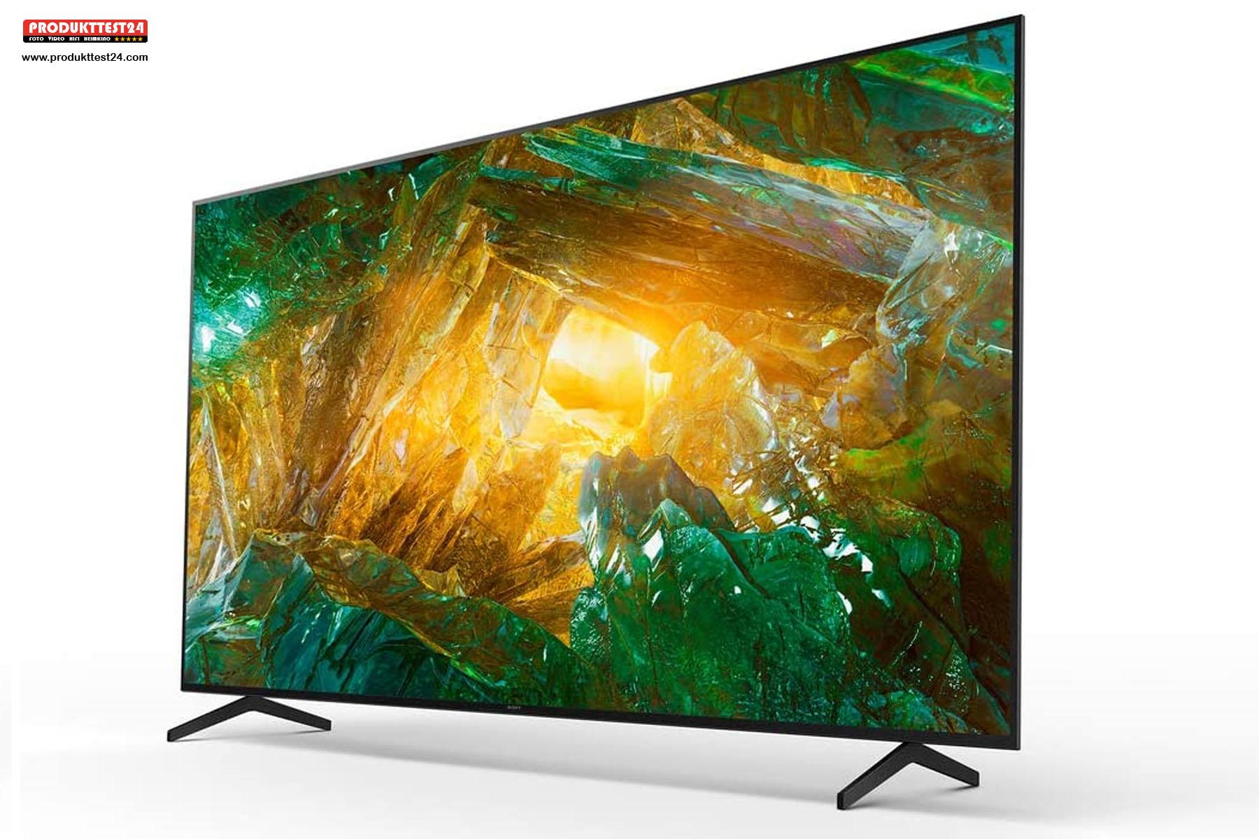 Der 55 Zoll große 4K UHD TV aus dem Hause Sony