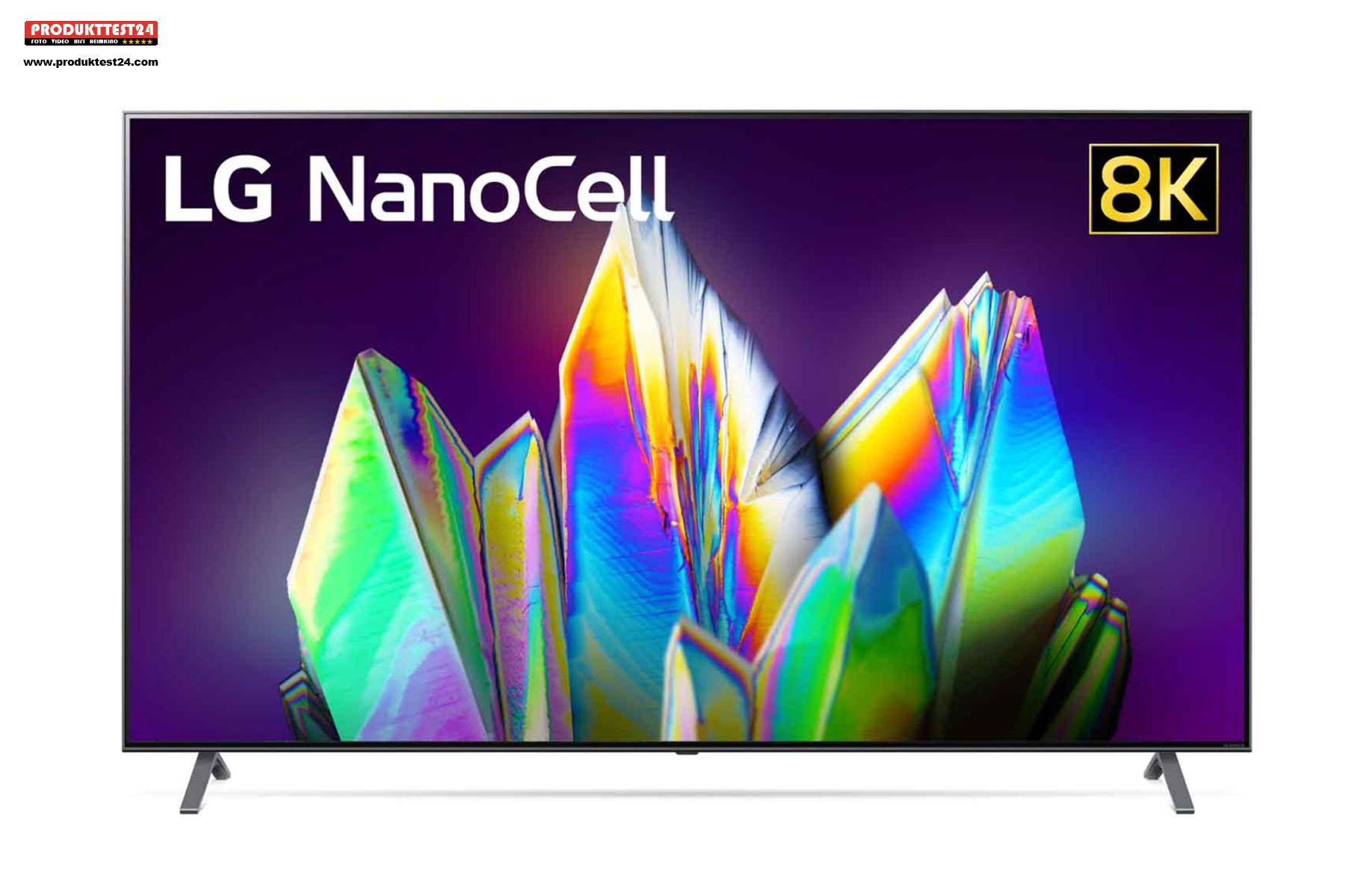 Preiswerter 8K-Fernseher mit einer 189 cm großen Bilddiagonalen.