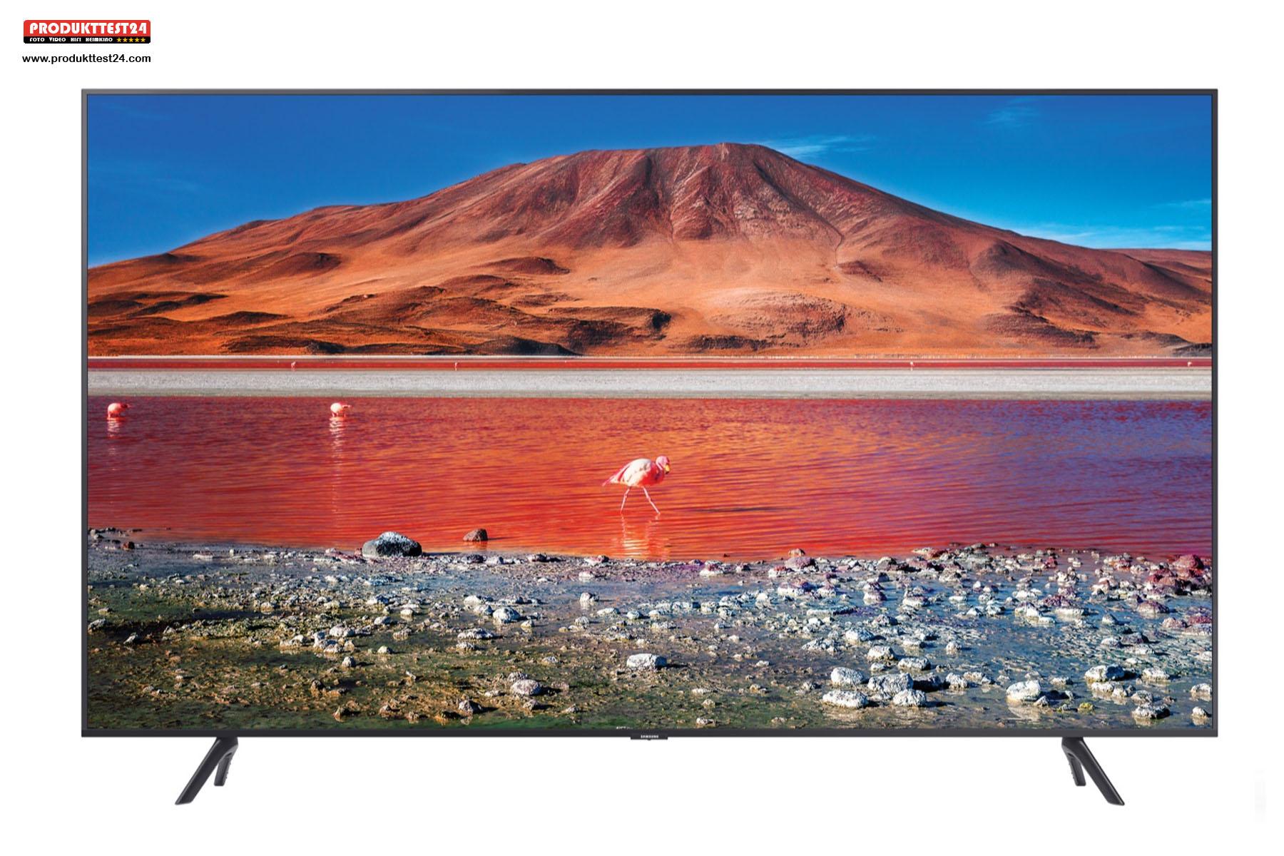 Der neue Samsung GU75TU7079UXZG UHD 4K-Fernseher