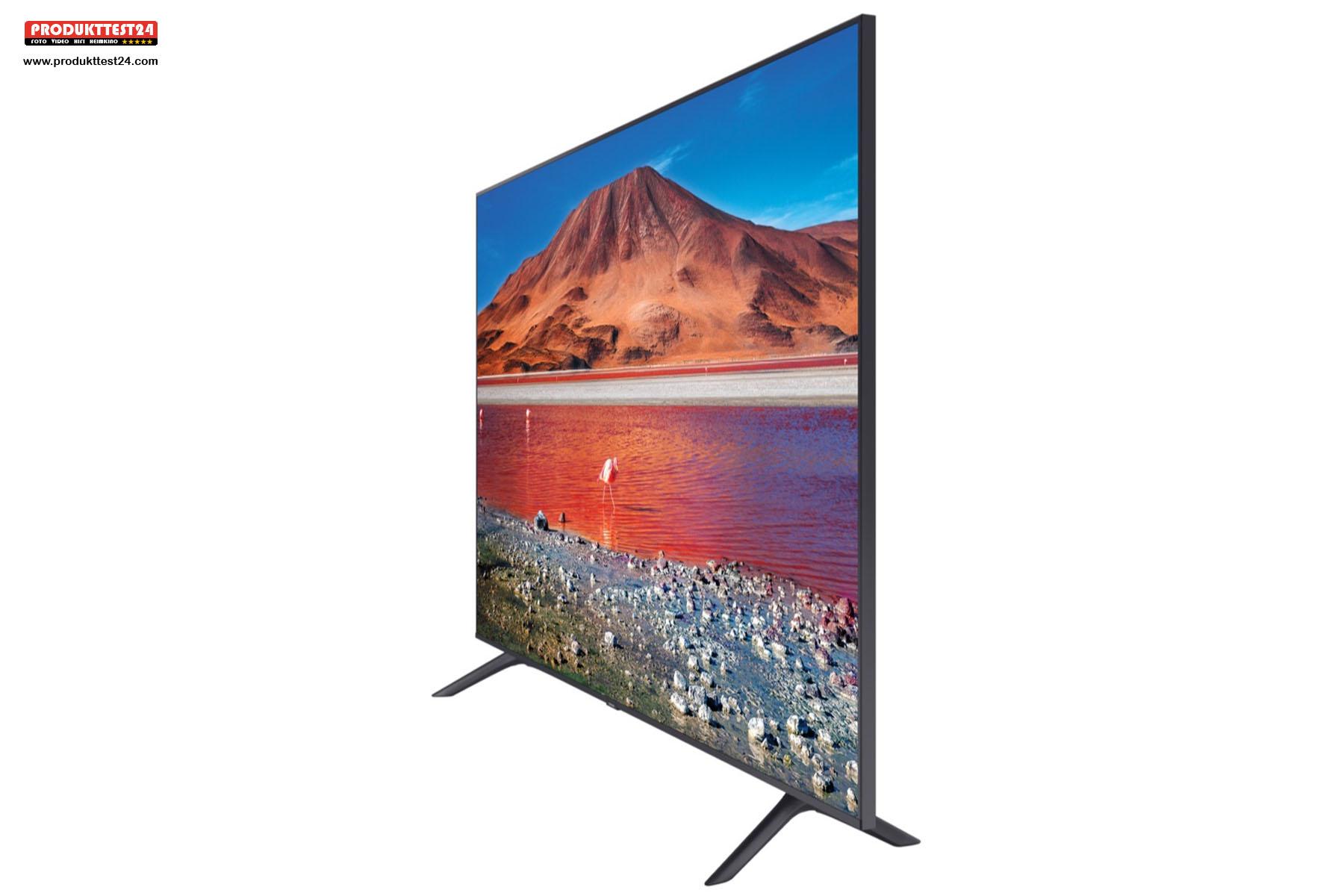 Samsung GU58TU7199 mit einem 58 Zoll großen Display