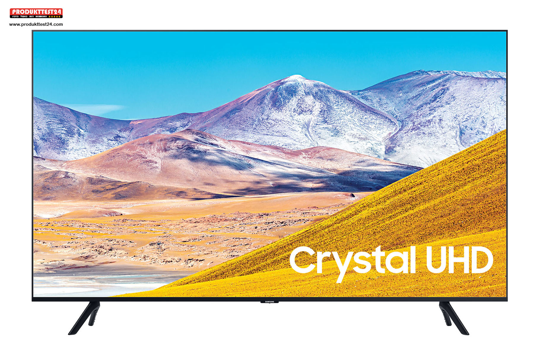Samsung GU75TU8079 - 4K Ultra HD Auflösung, 189 cm (75 Zoll) Bilddiagonale, SmartTV und Triple Tuner
