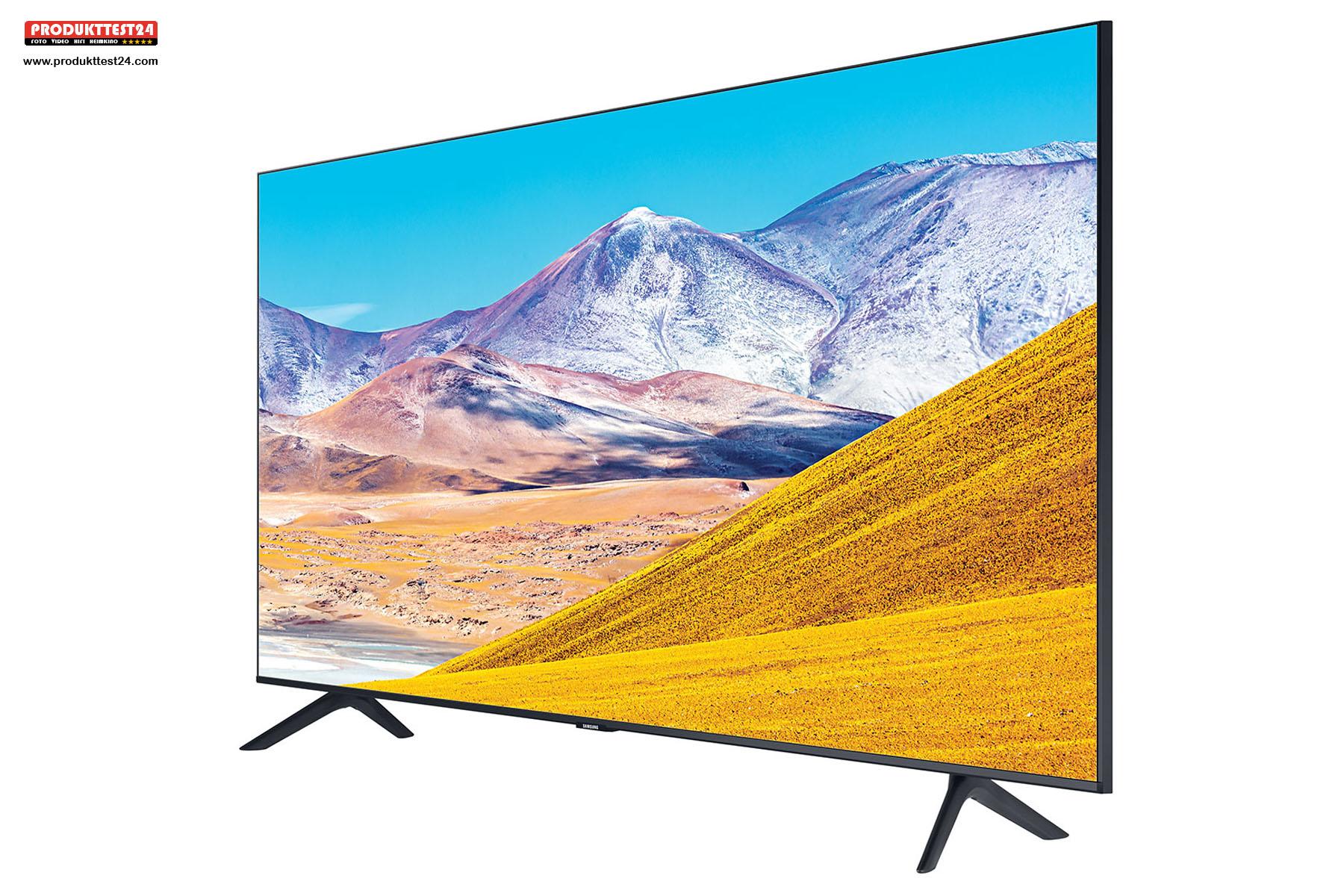 Samsung GU55TU8079 UHD 4K-Fernseher mit SmartTV, Sprachsteuerung und Triple Tuner