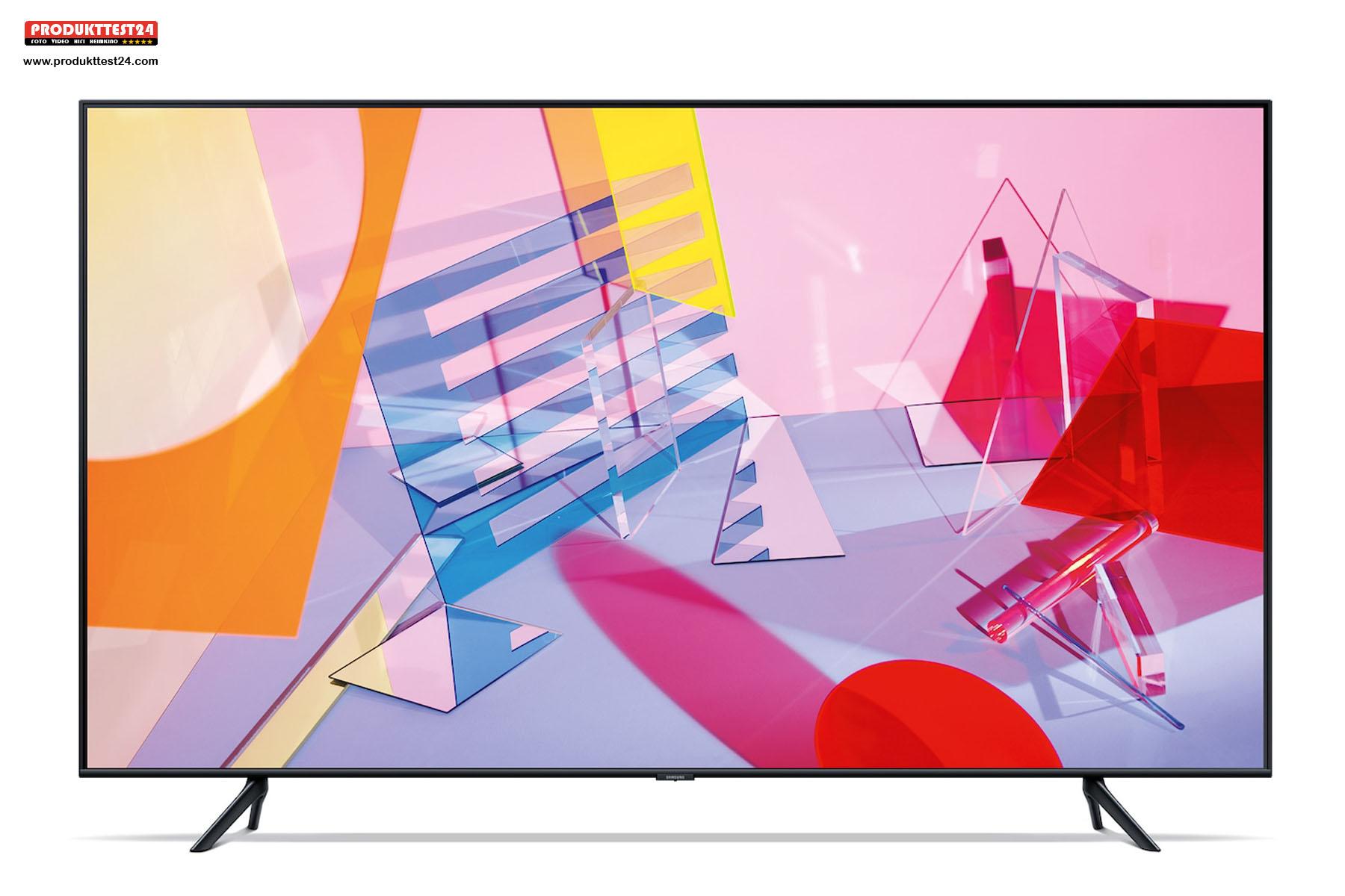 Samsung GQ43Q60T mit 108cm Bilddiagonale, Alexa Sprachsteuerung und SmartTV