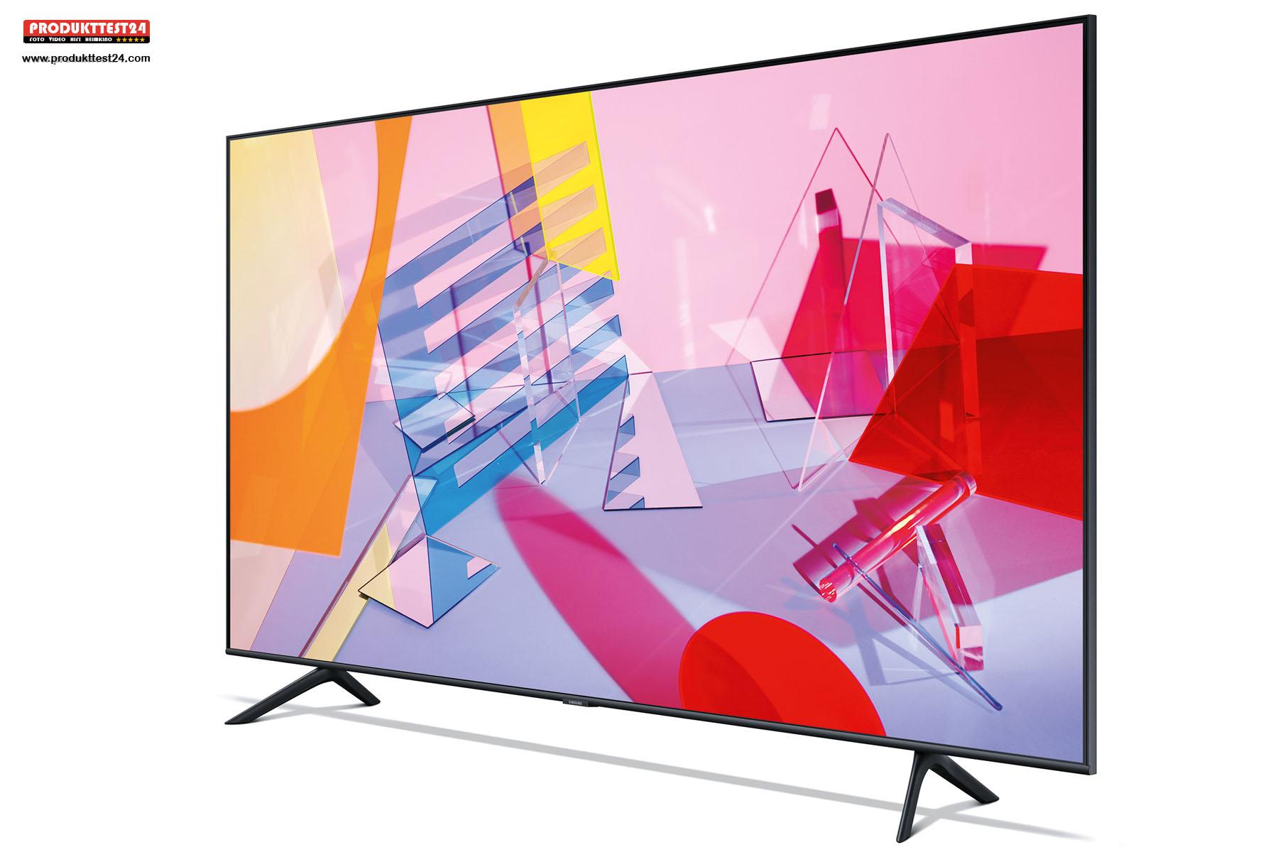 Samsung GQ65Q60T QLED 4K-Fernseher mit SmartTV, SmartThinks, Sprachsteuerung und Triple Tuner