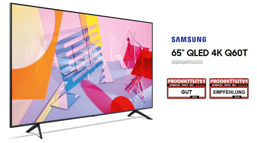 Samsung GQ65Q60T QLED 4K-Fernseher im Test