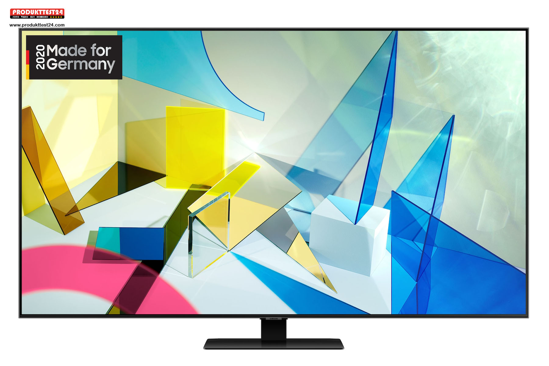 QLED 4K Display mit 4K UHD Auflösung und 100 % DCI P3 Farbraumdarstellung