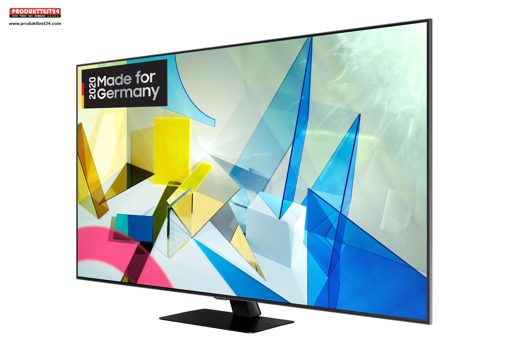 Der Samsung Q80T bietet ein gestochen scharfes Bild mit realistischen Farben
