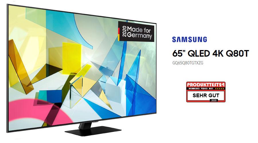 Samsung GQ65Q80T im Test