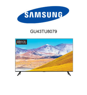 Samsung GU43TU8079 Premium UHD TV im Test