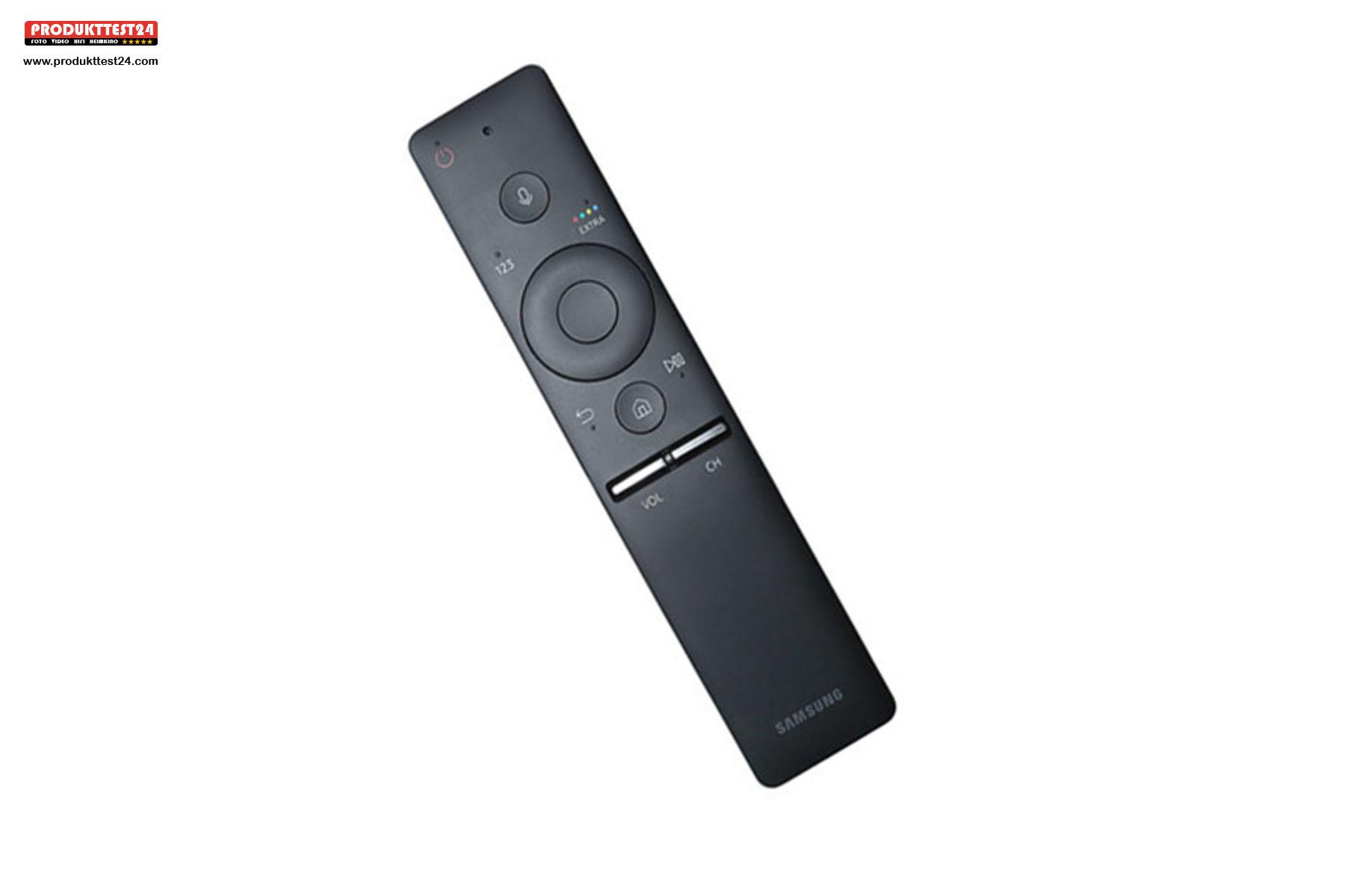 Die Smart Remote Fernbedienung kommt mit wenigen Tasten aus.
