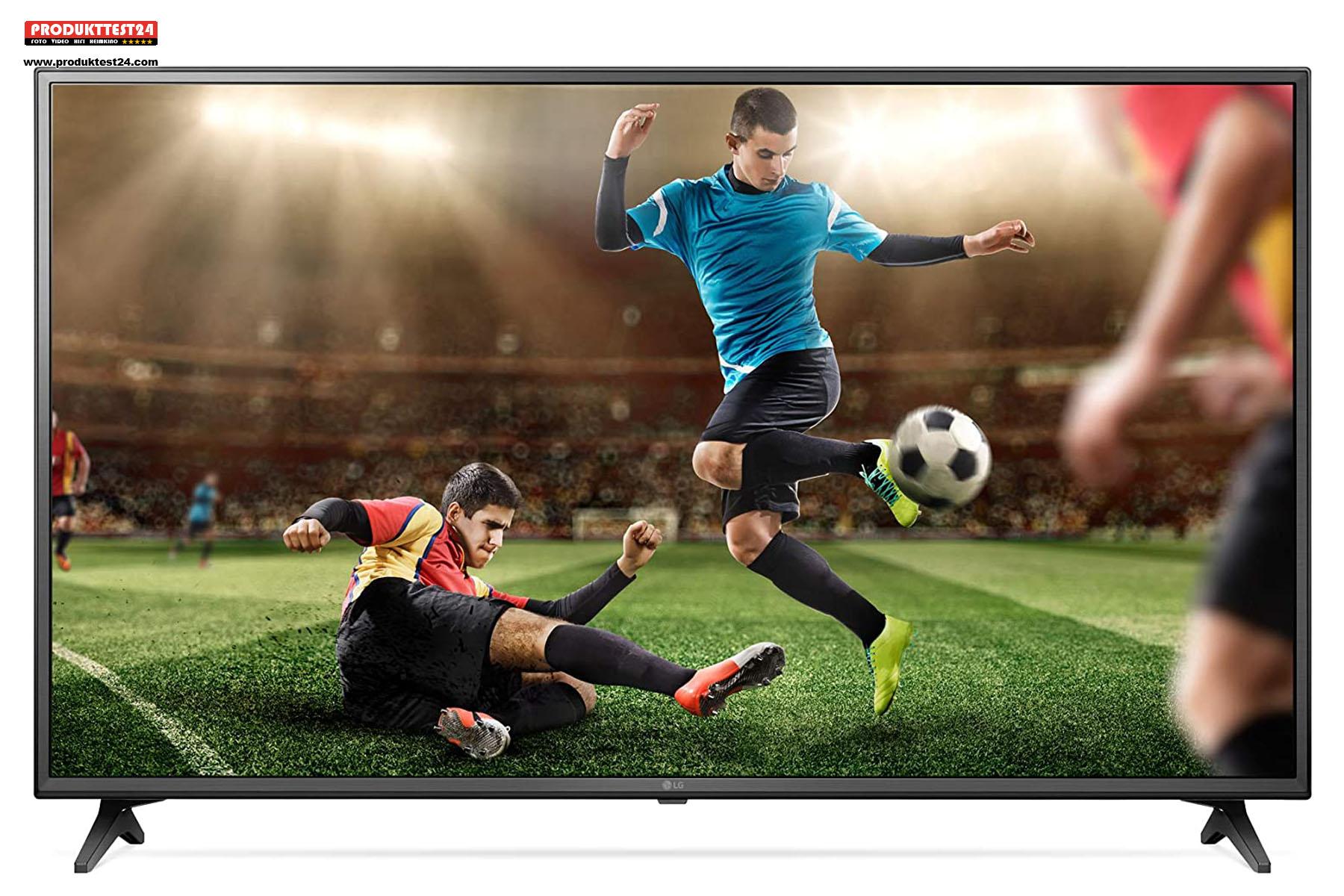 LG 43UM7050PLF - mit SmartTV, Triple Tuner und Alexa Sprachsteuerung (optional)