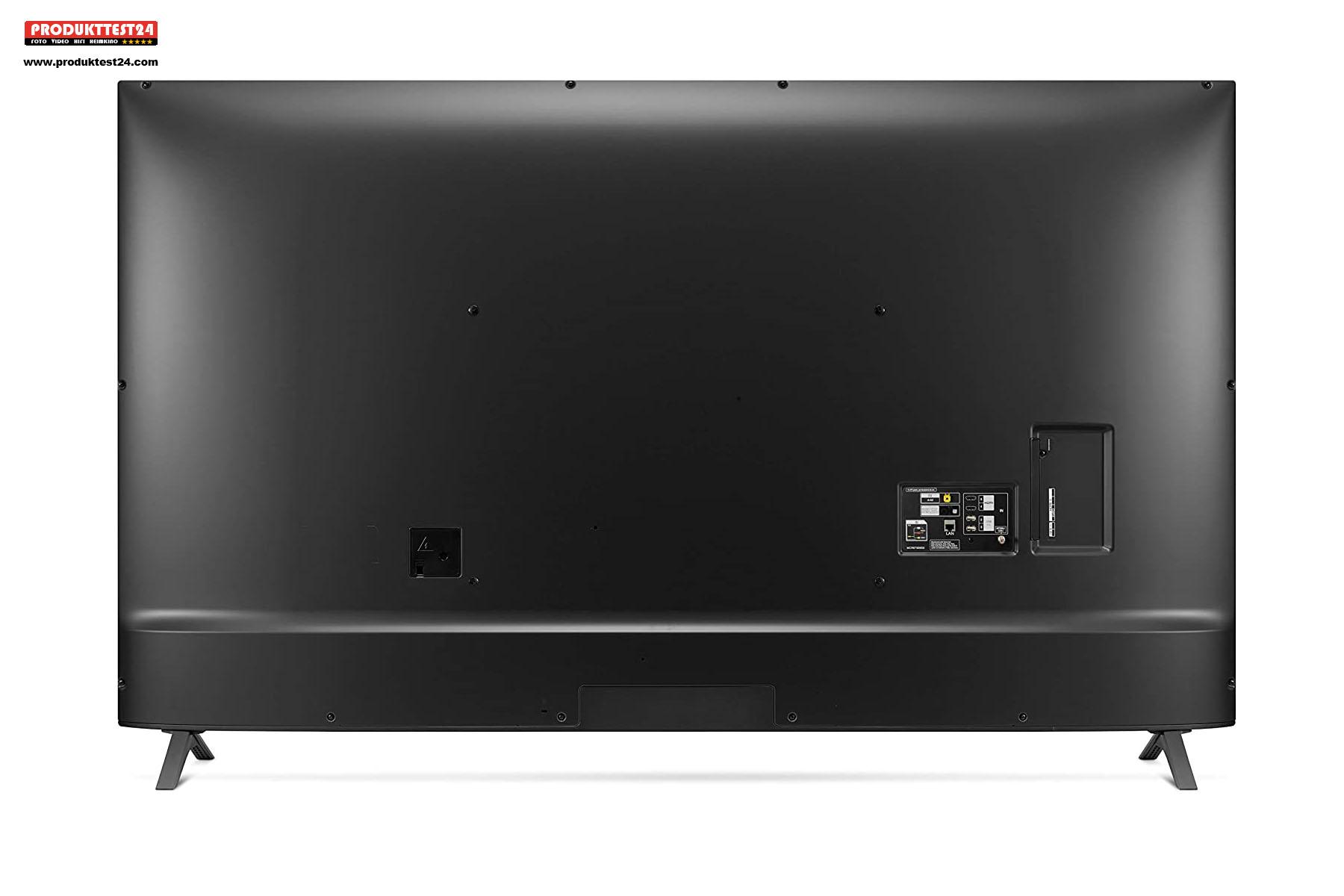 Die Rückseite des LG 75UN85006LA