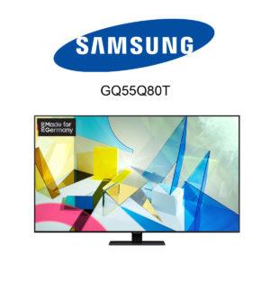 Samsung GQ55Q80T QLED 4K-Fernseher im Test