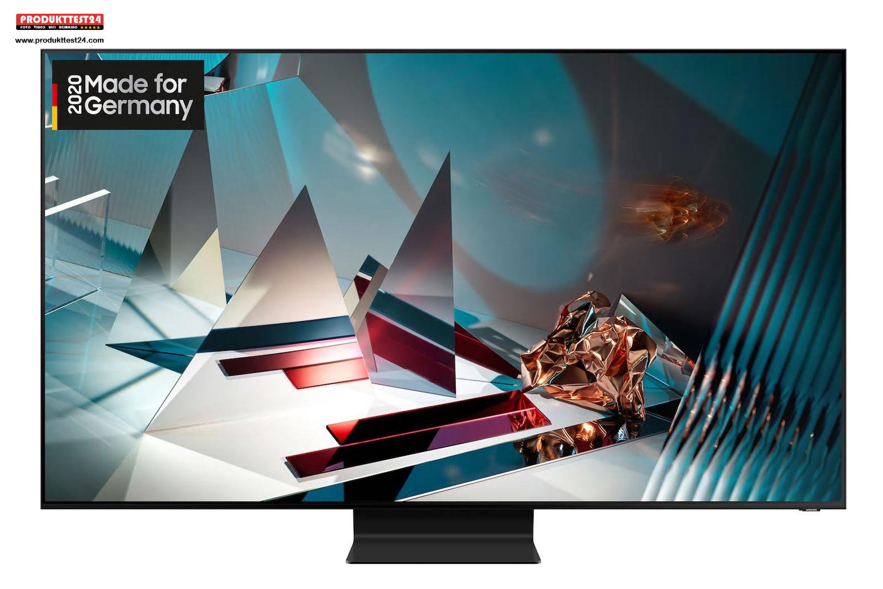 Samsung GQ75Q800T mit einer Bilddiagonale von 189 cm und 8K Auflösung.