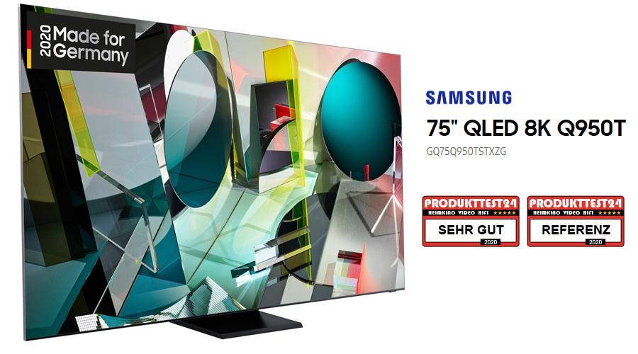 Der Samsung GQ75Q950T im Einzeltest