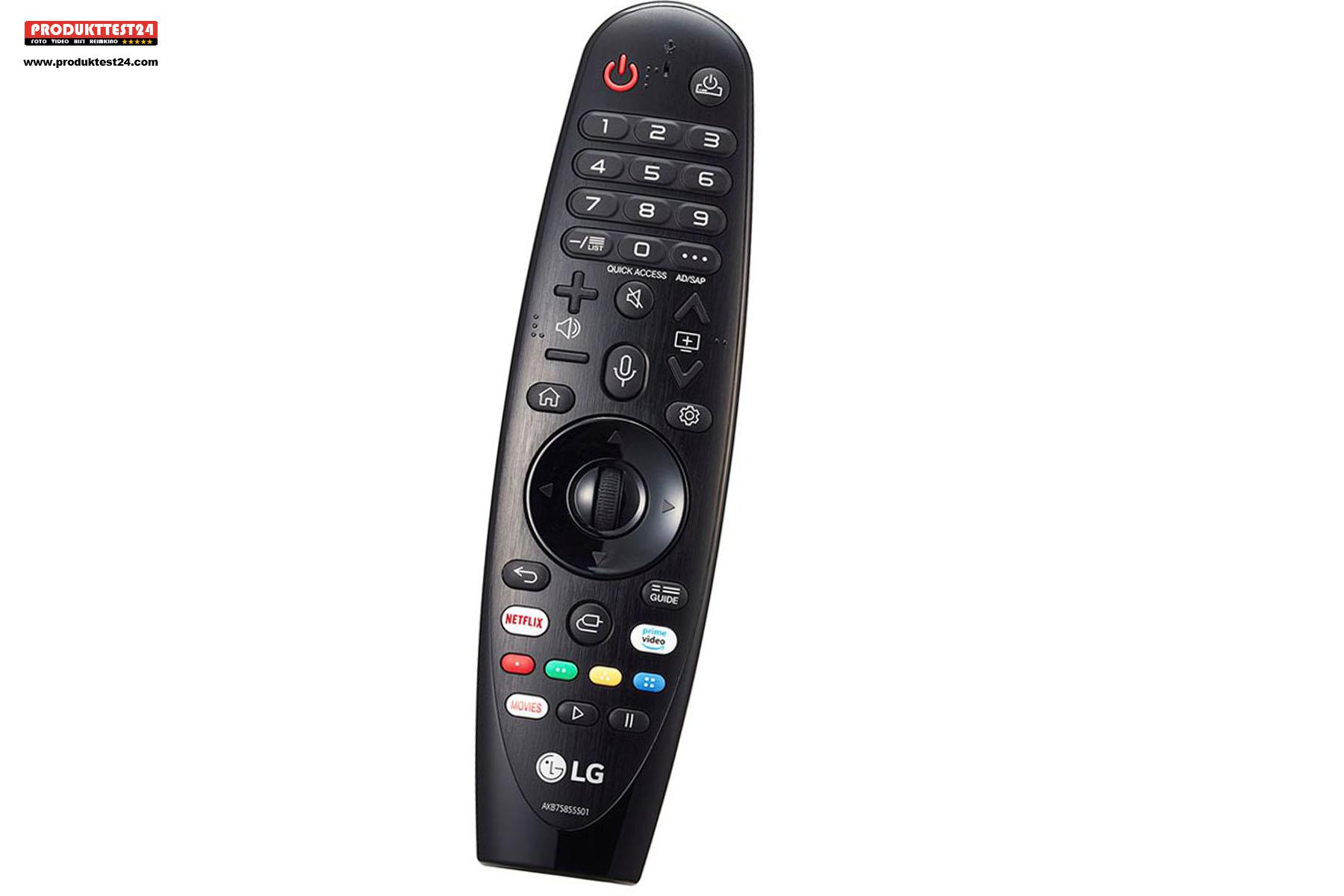 Die LG Magic Remote LG AN-MR20 - LG 49NANO867NA