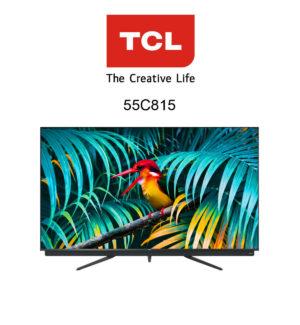 Der neue TCL 55C815 QLED 4K-Fernseher im Test.