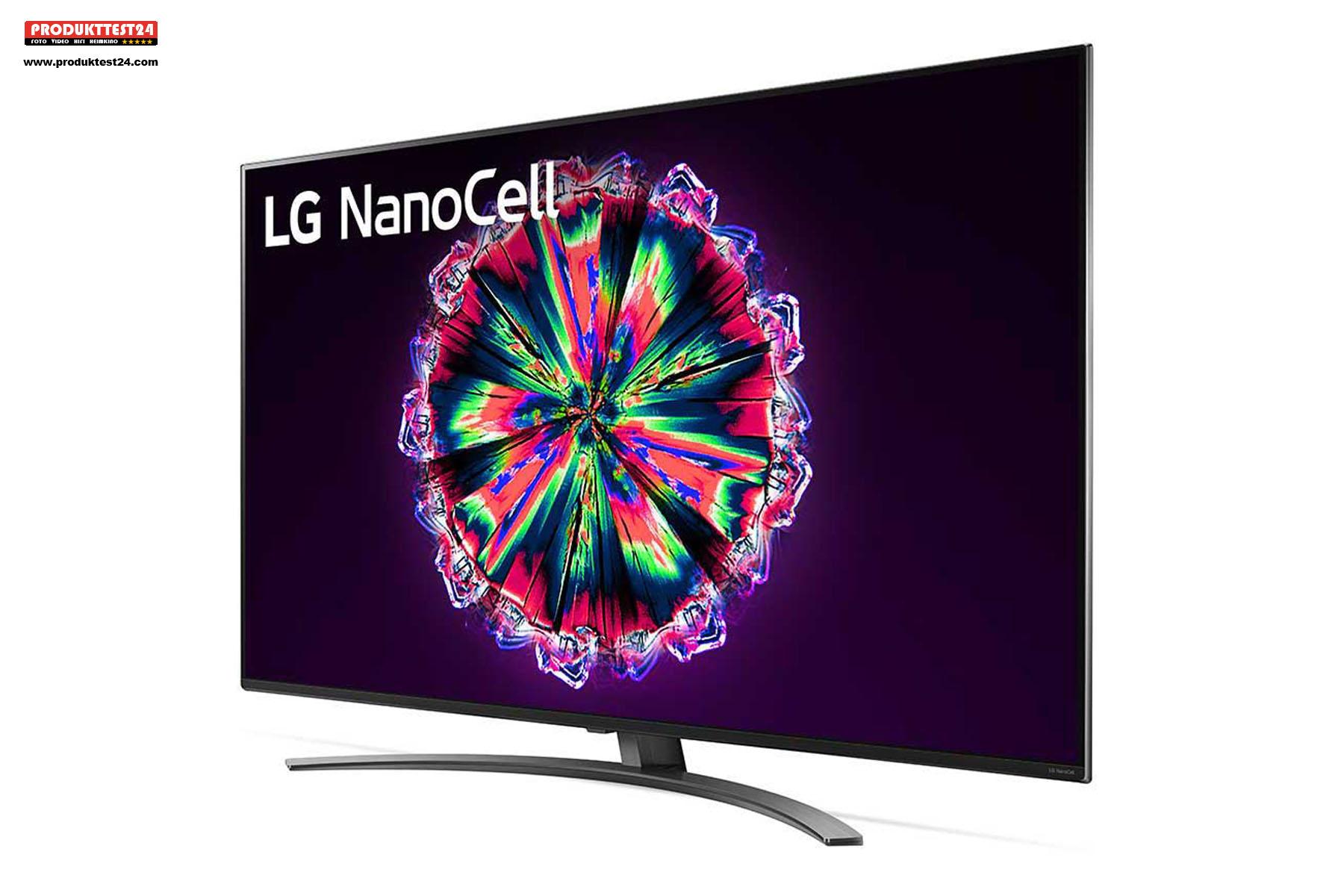 Der LG 49NANO867NA NanoCell 4K-Fernseher mit 100 HZ, Dolby Vision und Dolby Atmos