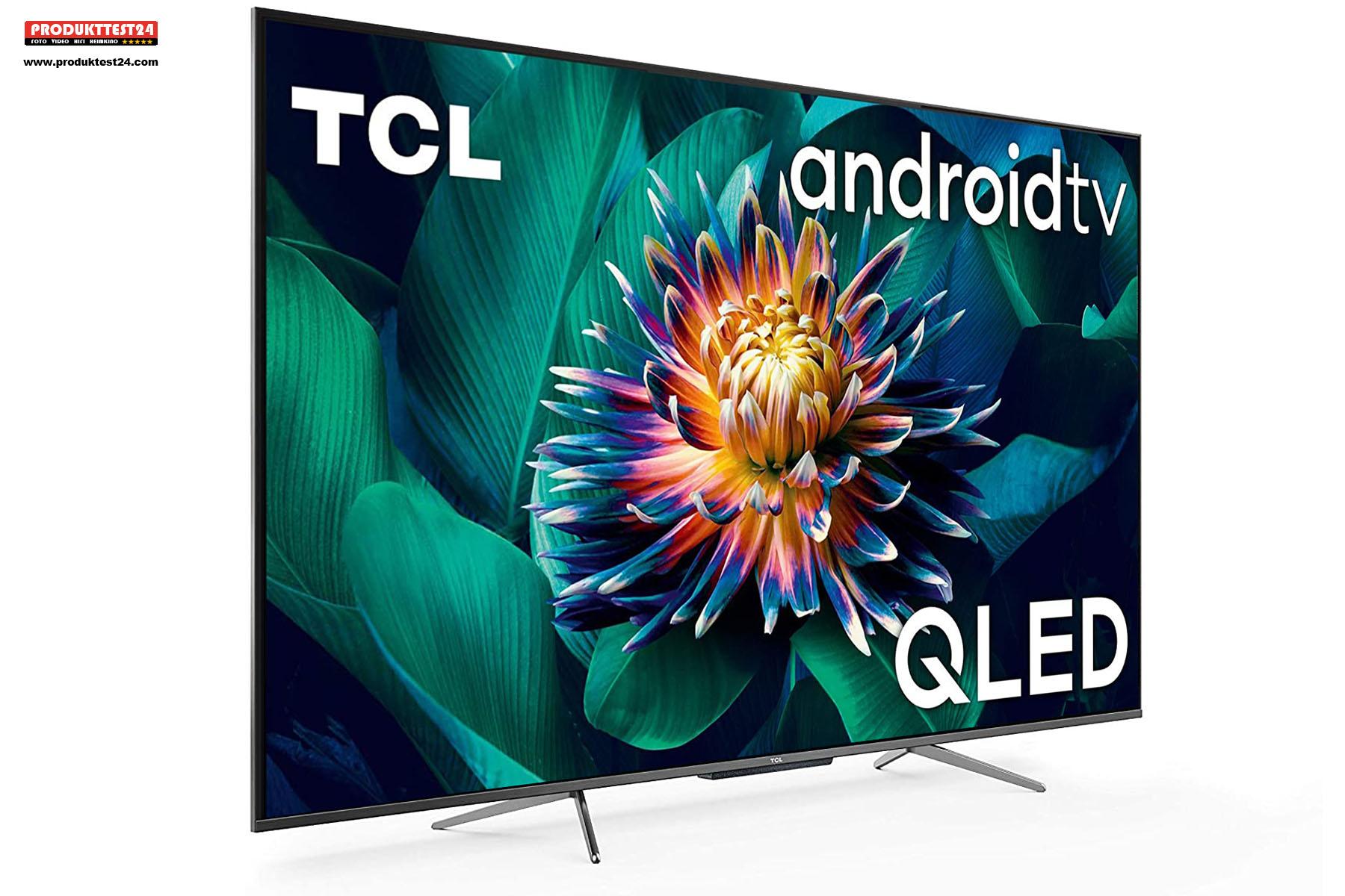 TCL 50C715 mit hochauflösendem 4K-Display und Quantum Dots