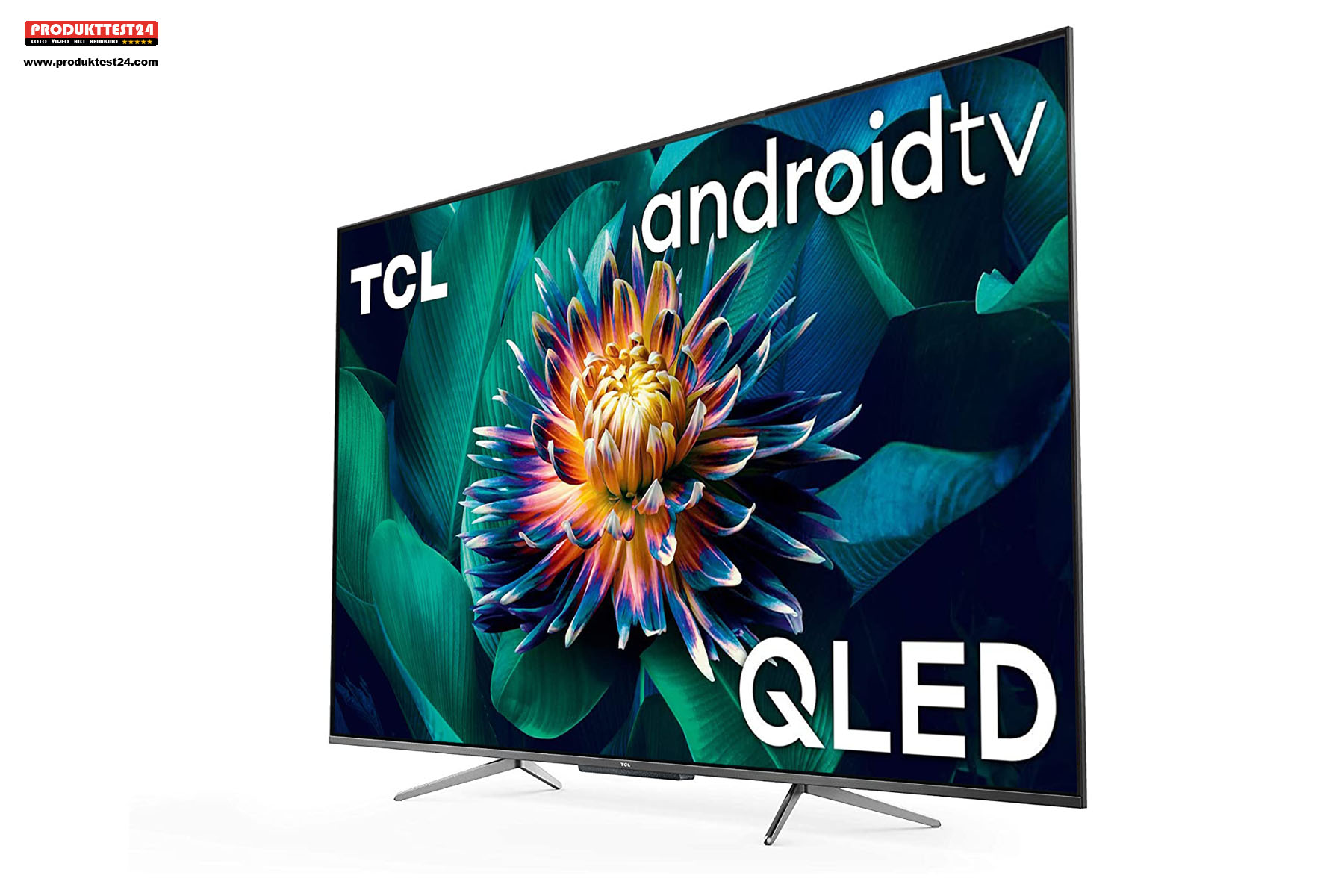 TCL 50C715 QLED 4K-Fernseher mit Android 9 SmartTV