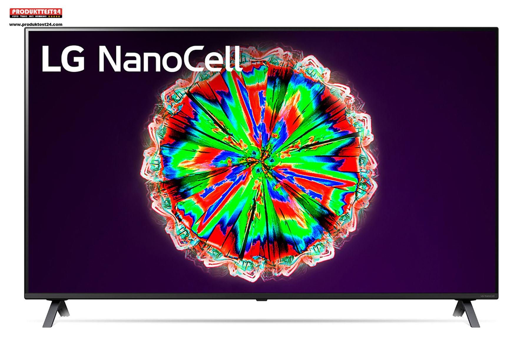 Der 55 Zoll LG 55NANO806NA 4K-Fernseher mit NanoCell Technik