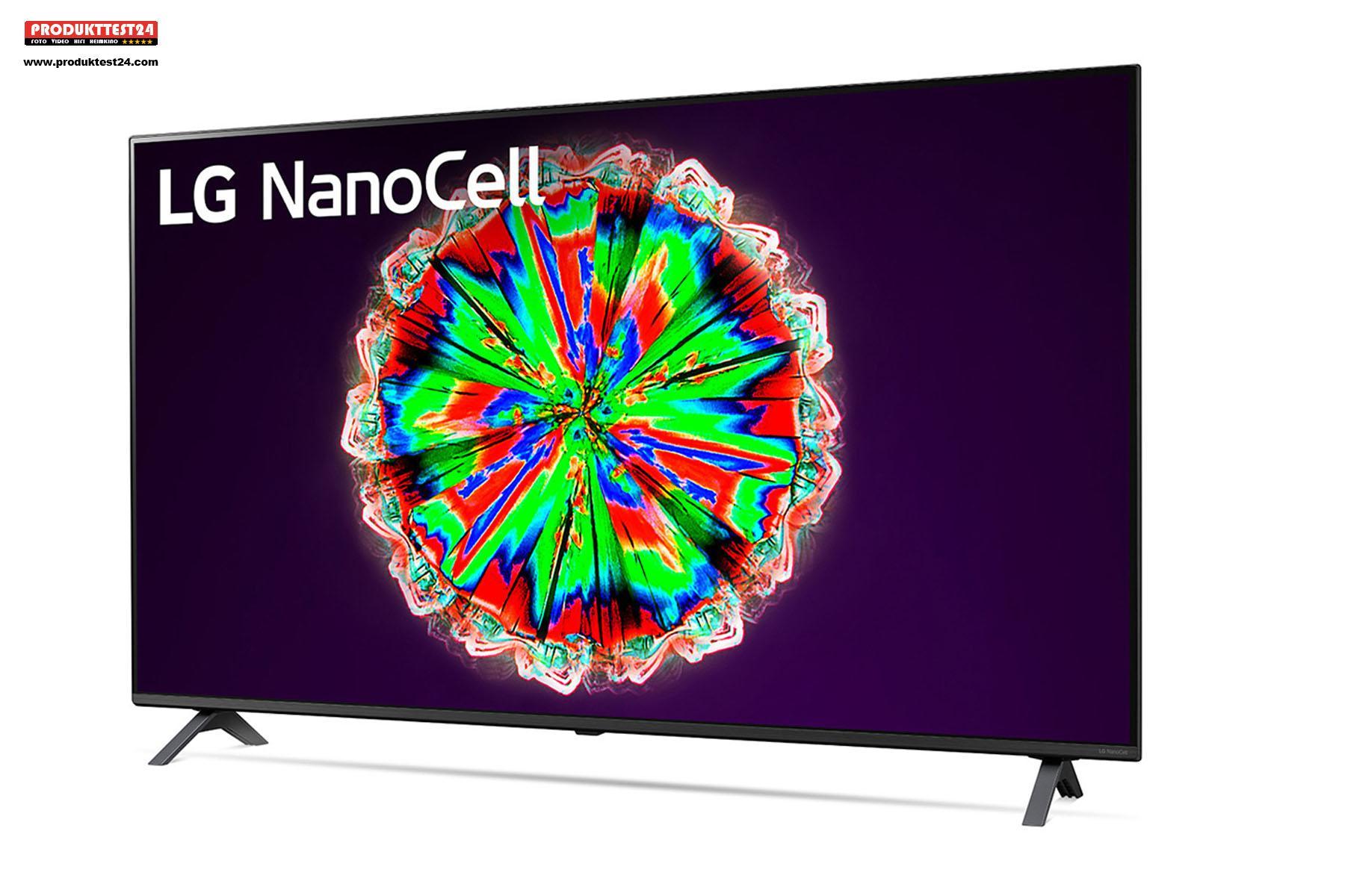 LG 49NANO806NA mit einem 49 Zoll großen NanoCell 4K-Display