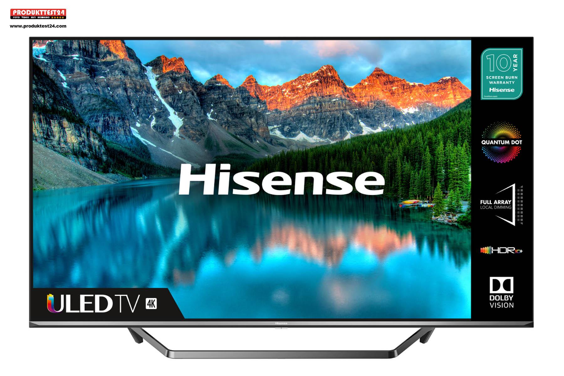 Hisense 65U7QF ULED 4K-TV mit Quantum Dot Technik