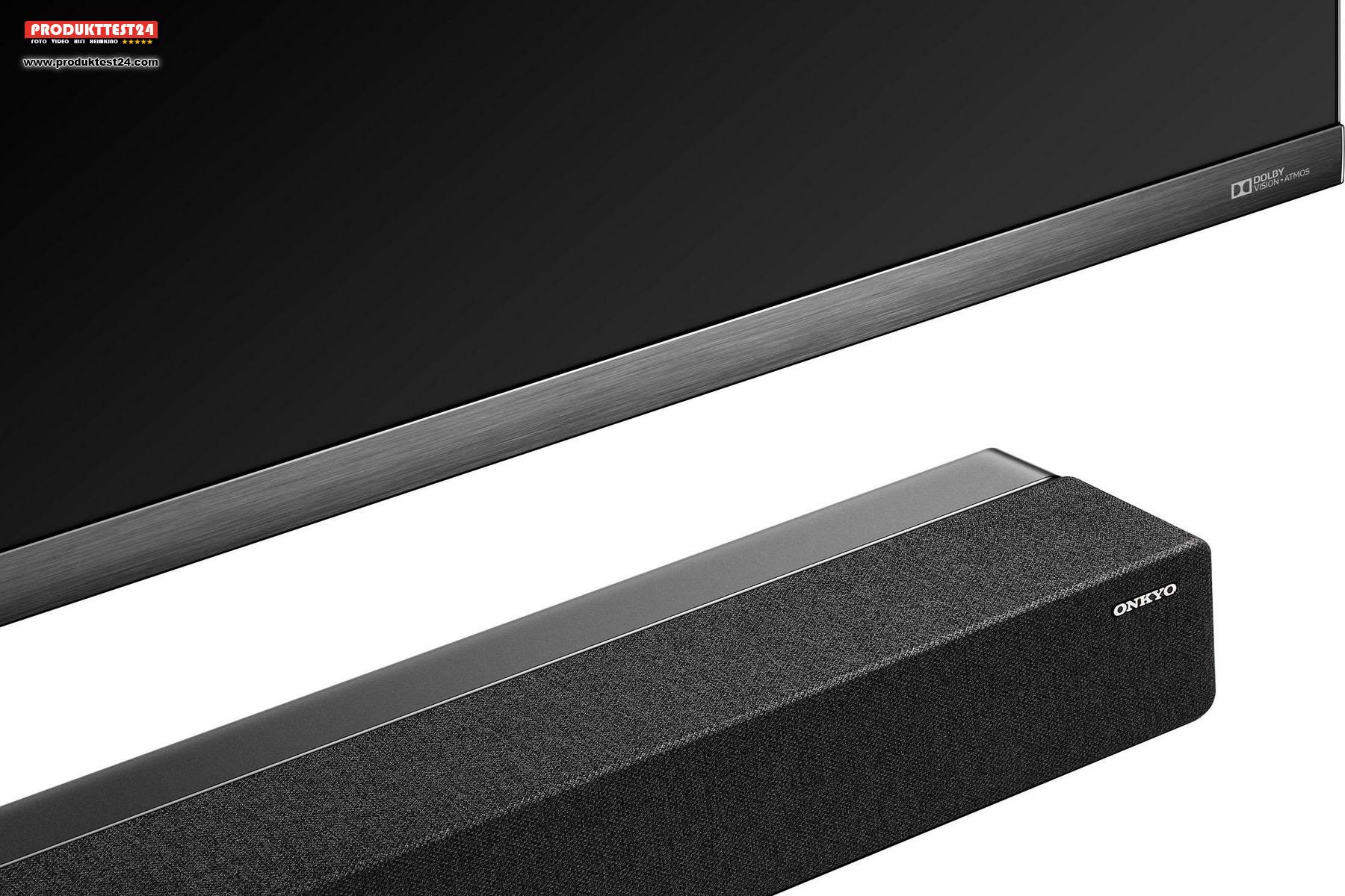 TCL 65X10 Mini-LED QLED 4K Fernseher mit integrierter ONKYO Soundbar