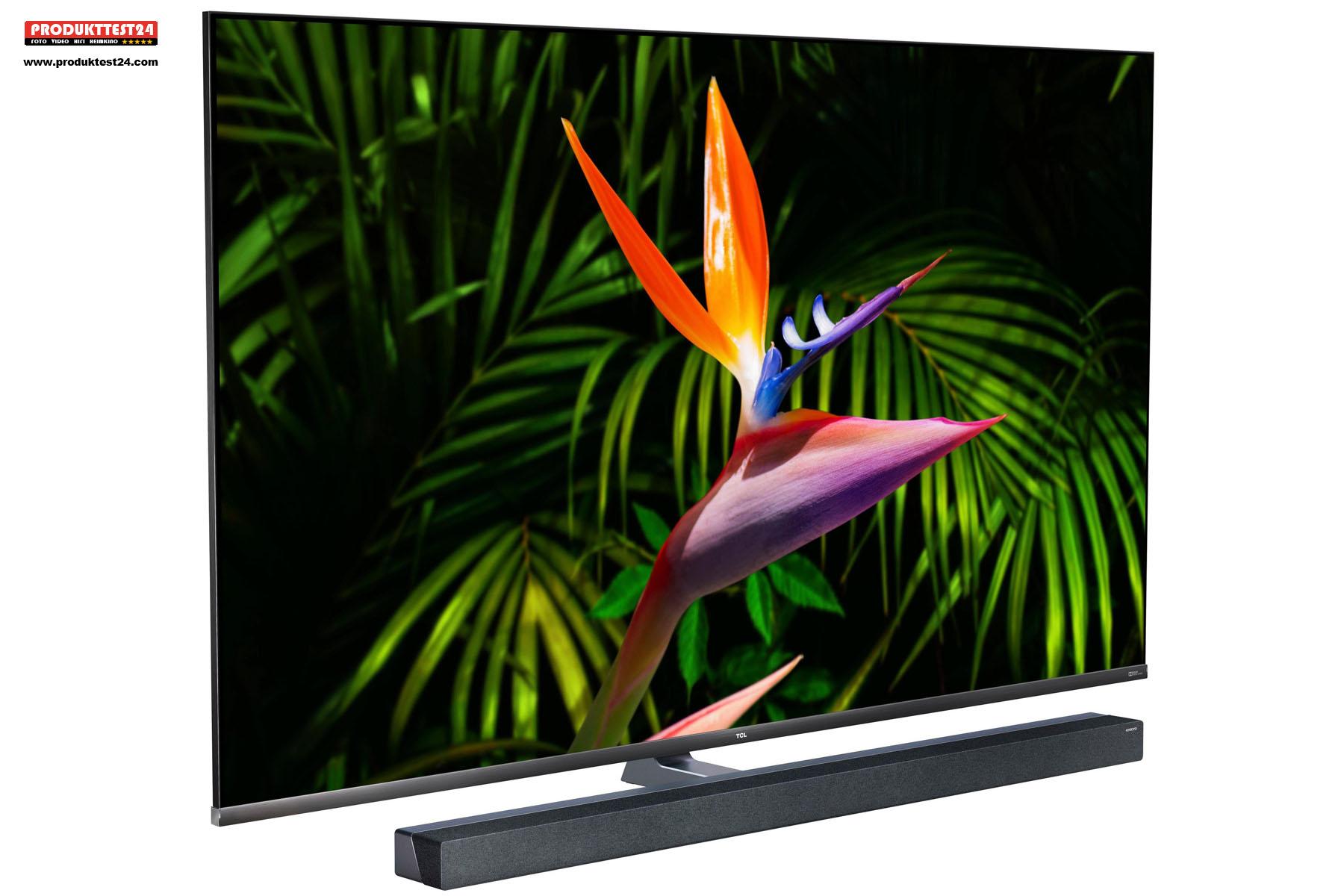 Der TCL 65X10 Mini-LED QLED 4K-Fernseher