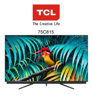 Der preiswerte TCL 75C815 QLED 4K Fernseher im Test