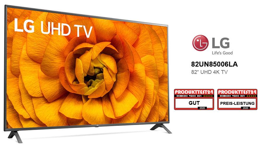 LG 82UN85006LA Großbildfernseher im Test