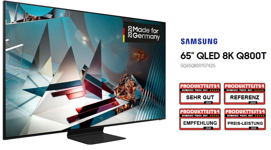 Samsung GQ65Q800T im Test