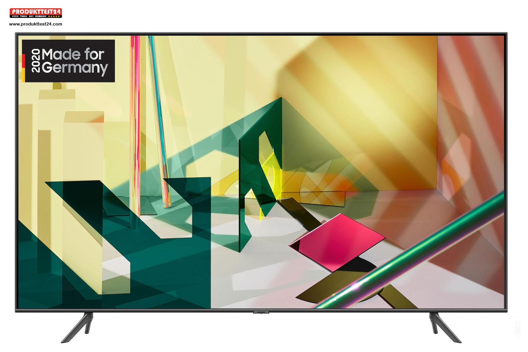 Der 85 Zoll Großbildfernseher - Samsung GQ85Q70T QLED 4K TV