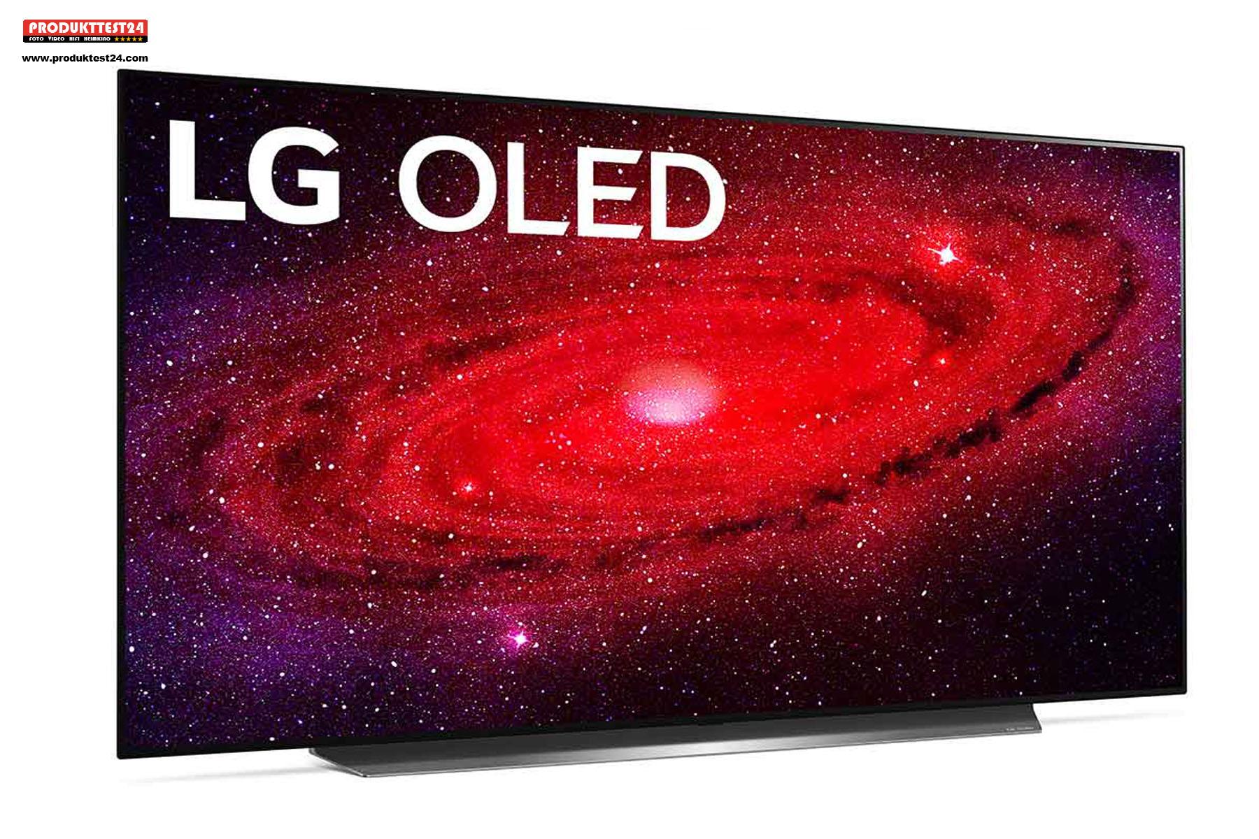Der 65 Zoll große LG OLED 4K-Fernseher LG OLED65CX9LA