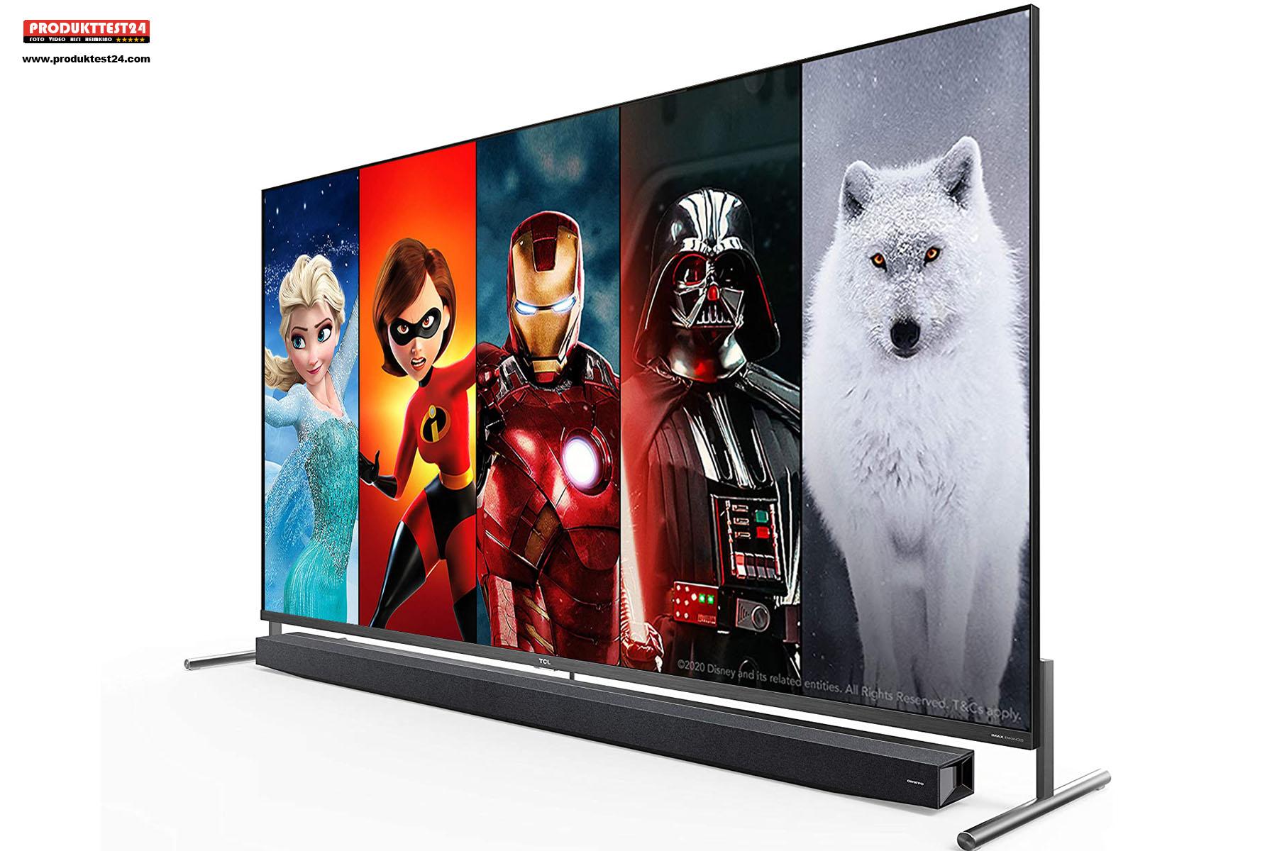 Der TCL 75X915 - QLED 8K TV