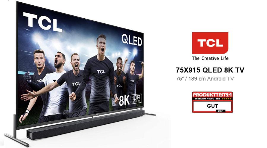 TCL 75X915 8K Fernseher im Test
